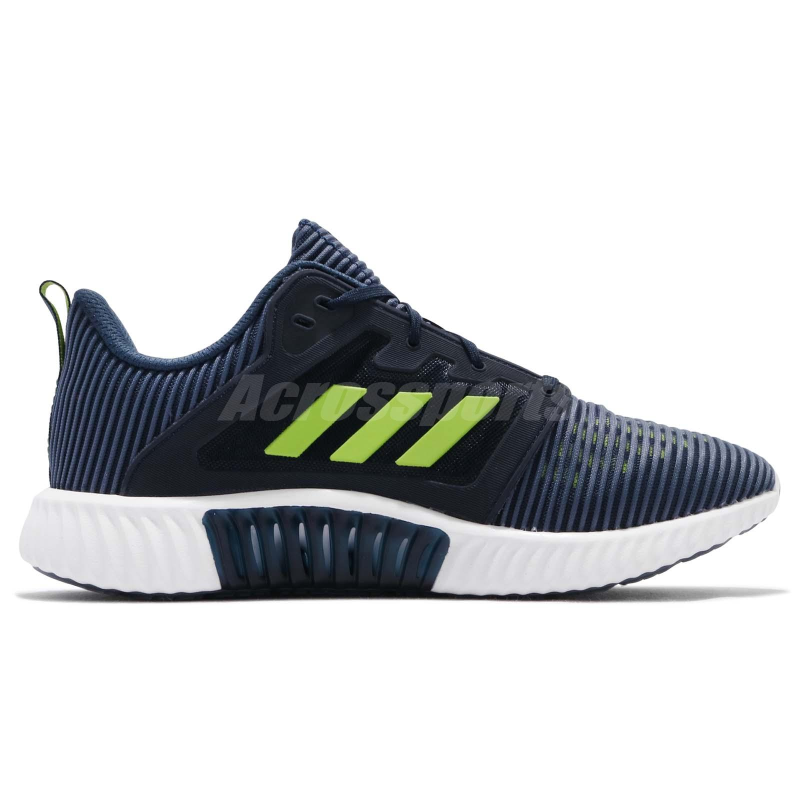 check out a4651 bffce Details about adidas Climacool Vent M Core Navy Lime Men Running Shoes  Sneakers CM7397