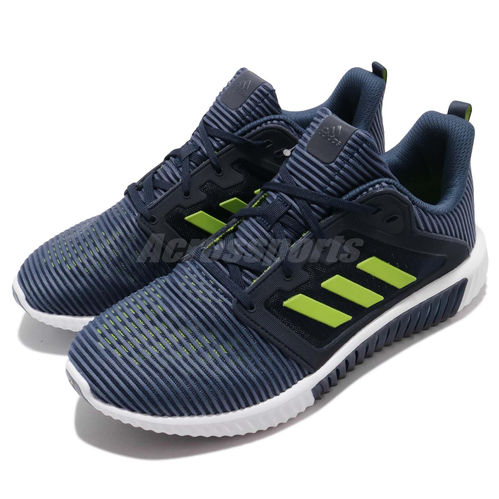 check out b5ded f0580 Details about adidas Climacool Vent M Core Navy Lime Men Running Shoes  Sneakers CM7397