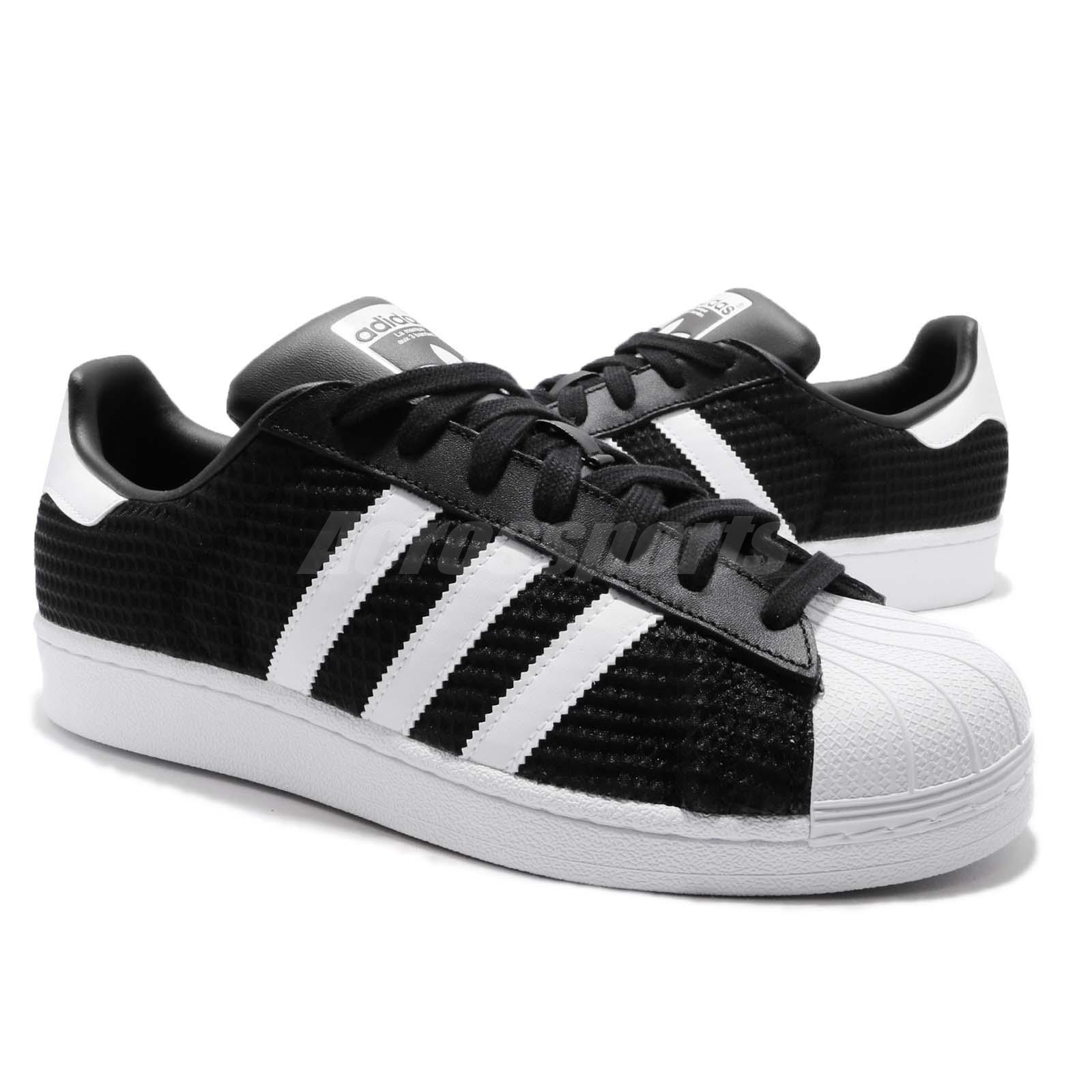 Details about adidas Originals Superstar Black White Men Casual Classic Shoes Sneakers CM8078