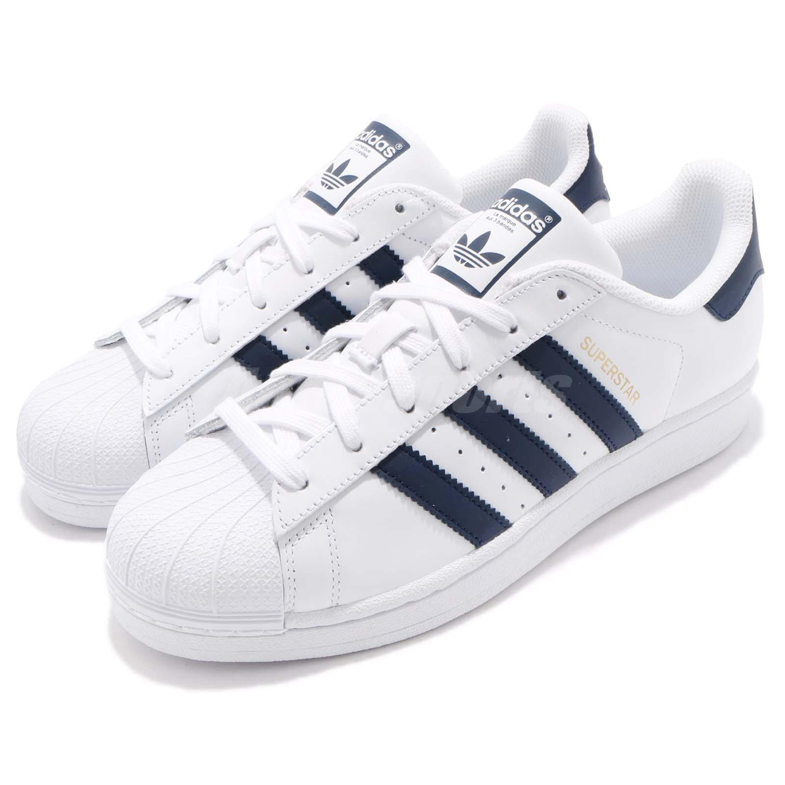 scarpe adidas Superstar White Black Men BB2236 taglia EU 40 UK 6 1/2
