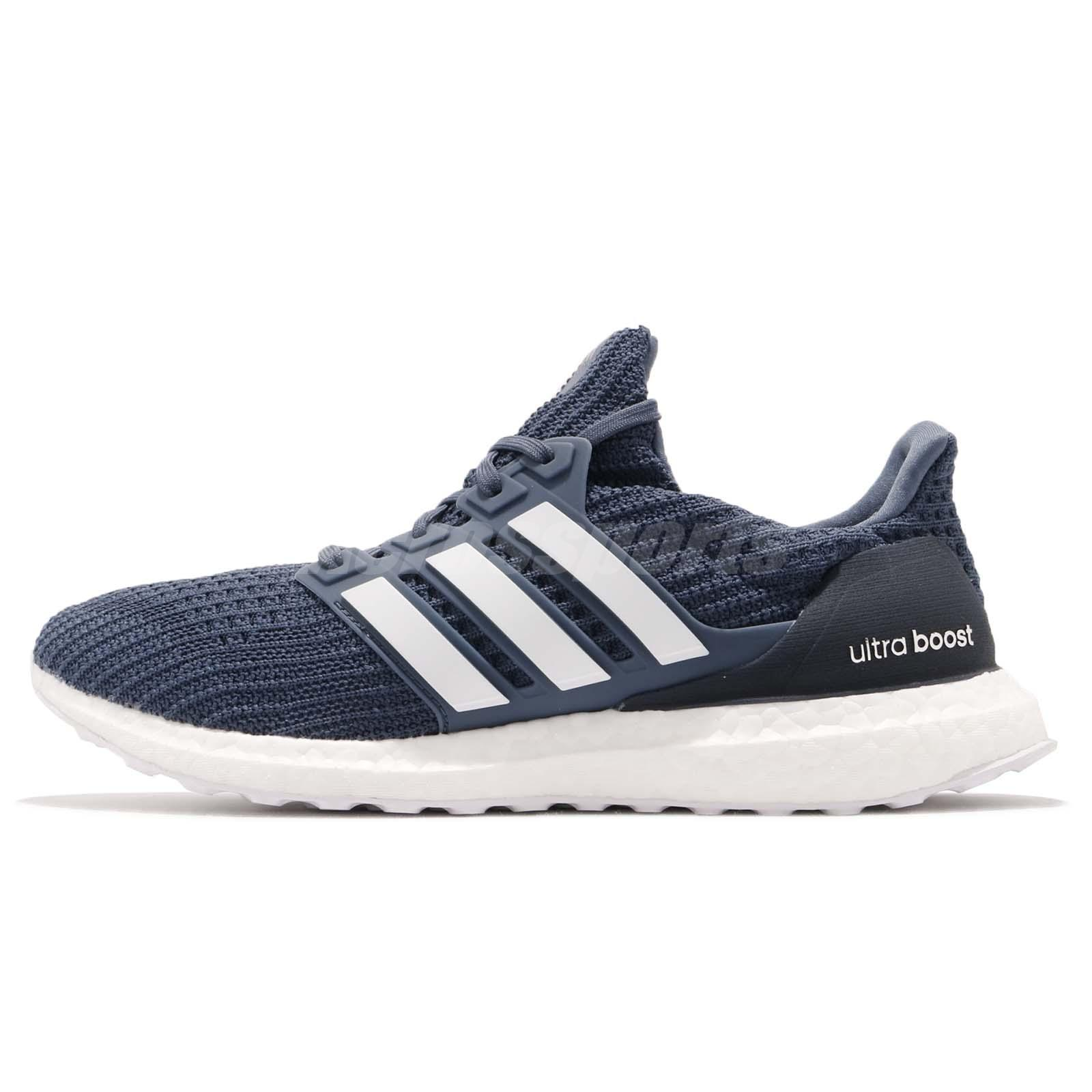 04dd2539d adidas Ultraboost 4.0 Show Your Stripes Tech Ink White Men Running Shoes  CM8113