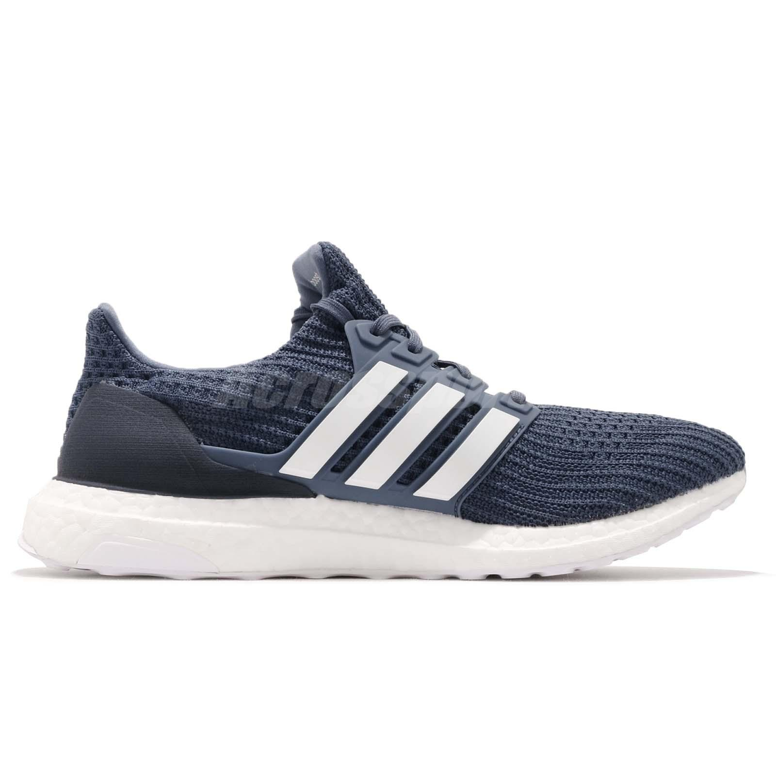 ab833253f adidas Ultraboost 4.0 Show Your Stripes Tech Ink White Men Running ...