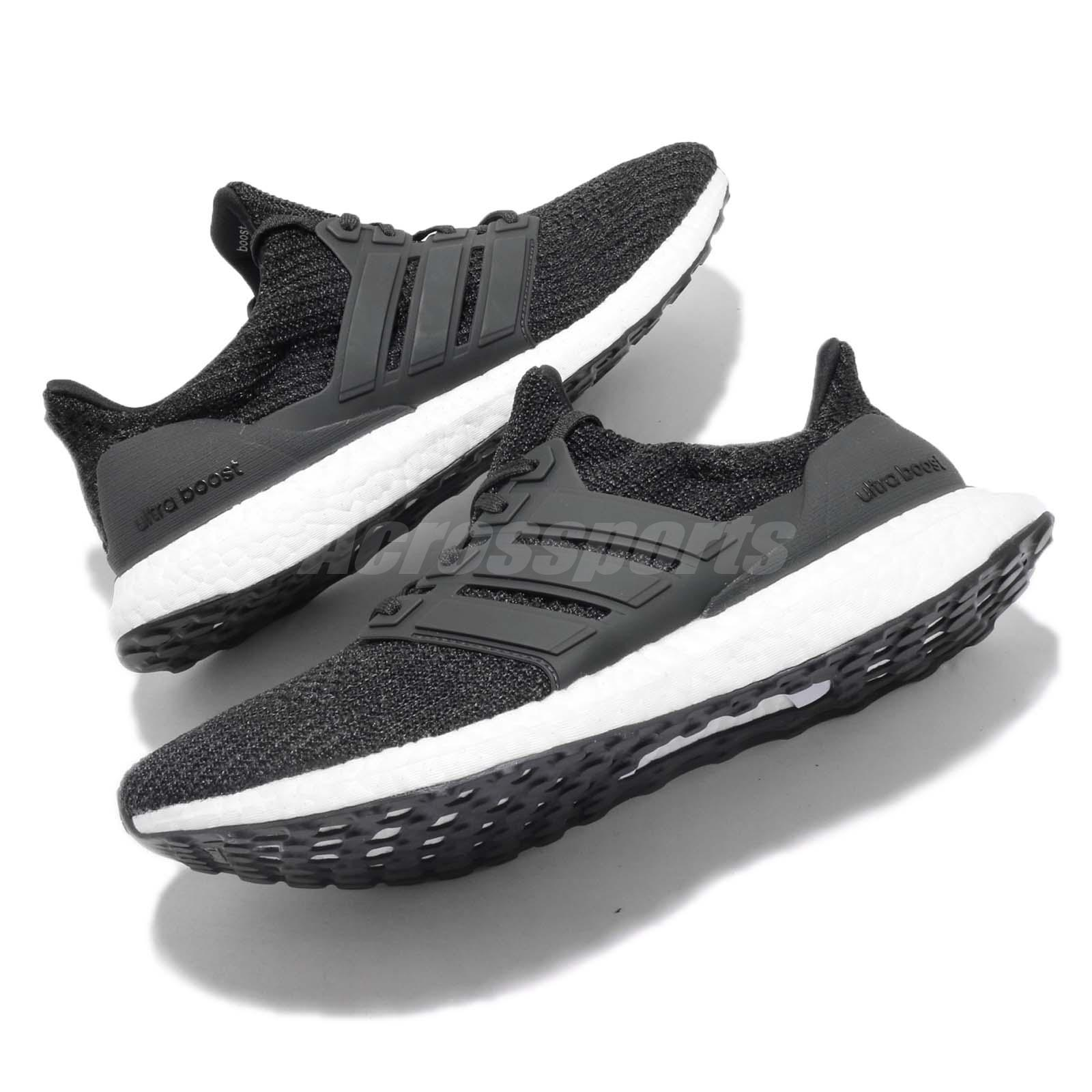 490e1061614cb adidas UltraBOOST 4.0 Carbon White Men Running Casual Shoes Sneakers ...
