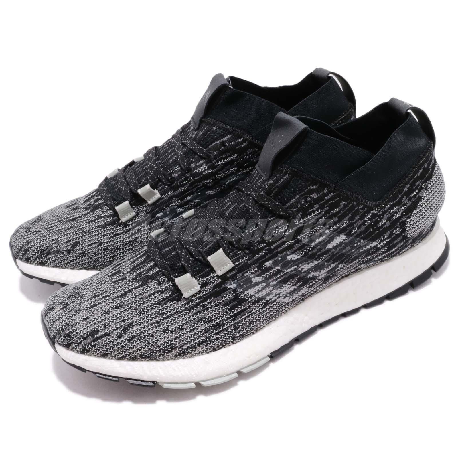 f526de15102 adidas PureBOOST RBL LTD Black Grey Silver Men Running Shoes ...