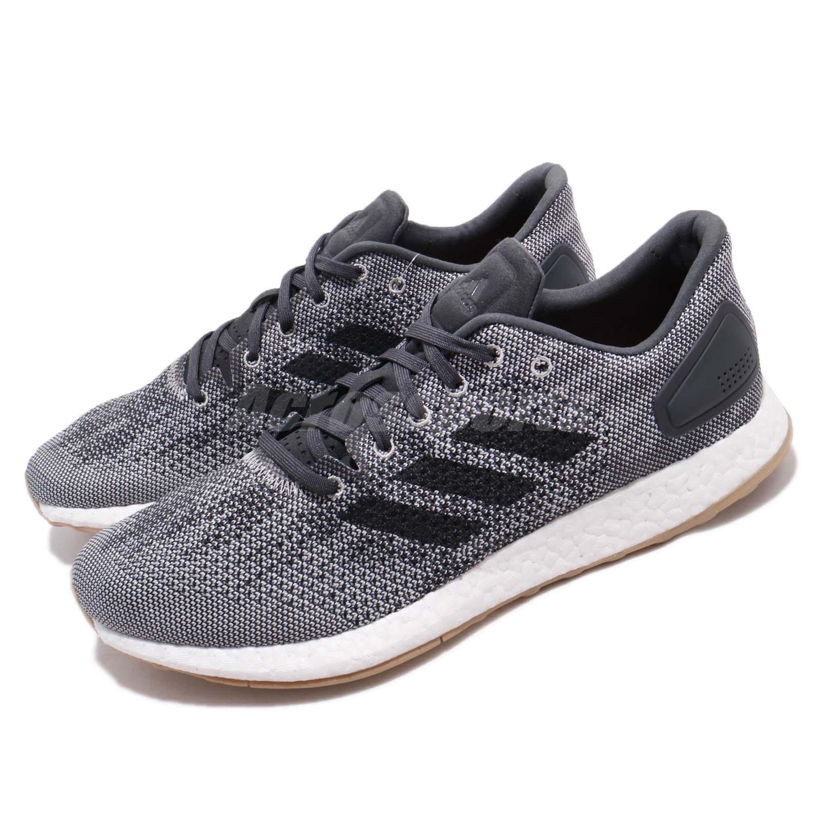 c388ccb1d6dc8 Details about adidas PureBoost DPR Boost Carbon Black Men Running Shoes  Sneakers CM8319