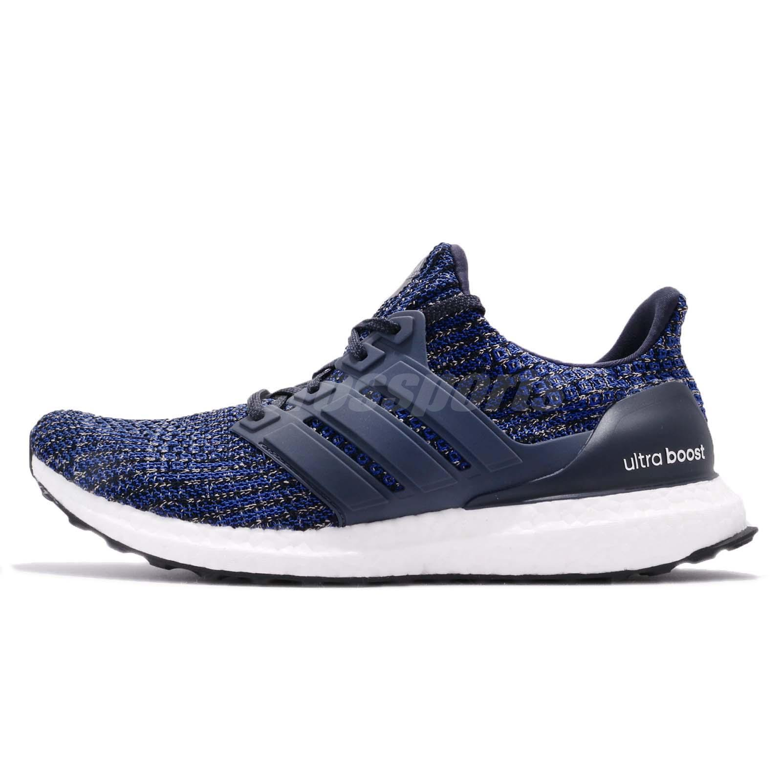 89db6b594 adidas UltraBOOST 4.0 Carbon Legend Ink Navy Black Men Running Shoes CP9250