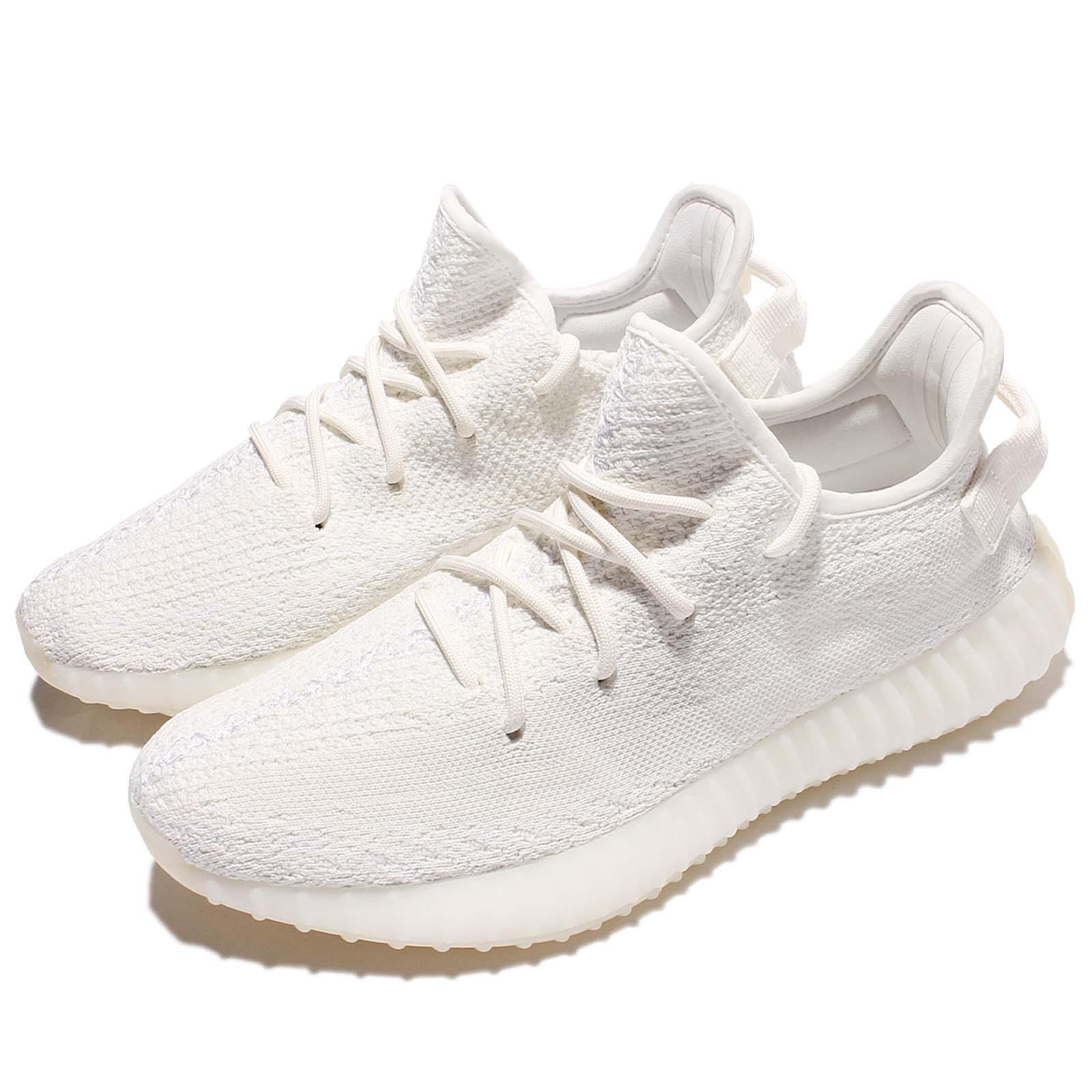 6ba7333bff868 Details about adidas Yeezy Boost 350 V2 Cream Triple White Kanye West  Fashion Shoes CP9366