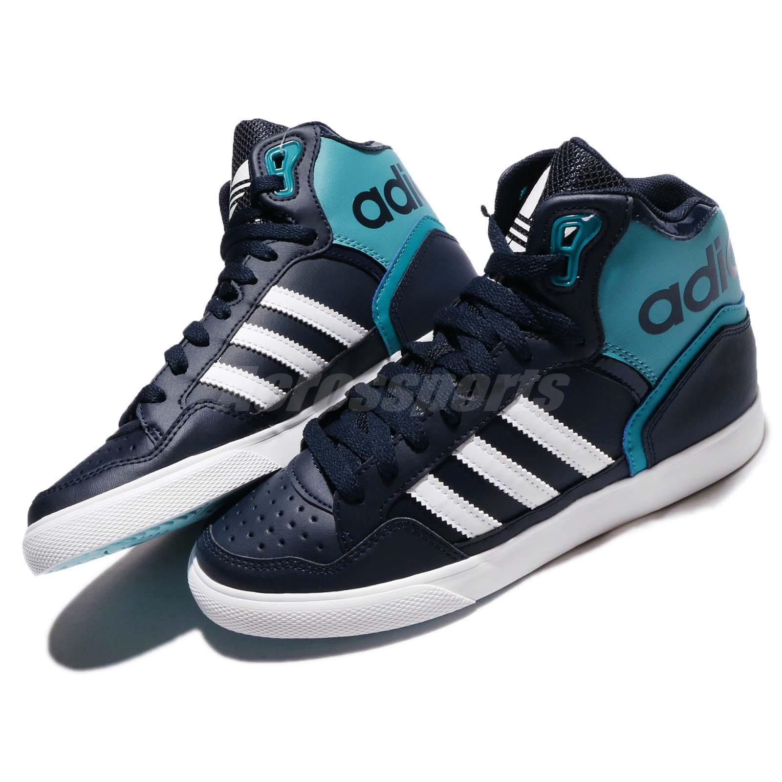 sale retailer 8f9b4 1abcb Adidas ORIGINALS EXTABALL W Hi Azul Blanco Retro Mujeres Zapatos ...