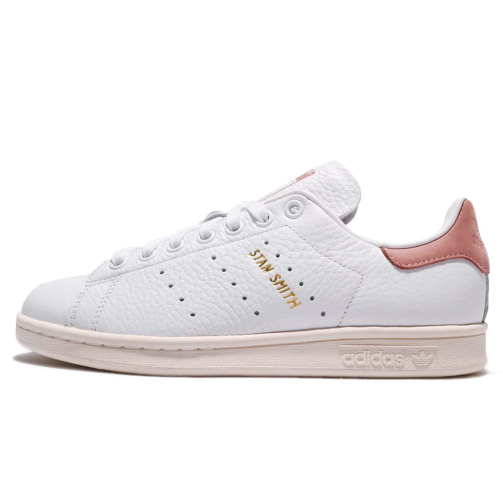 adidas stan smith white raw pink