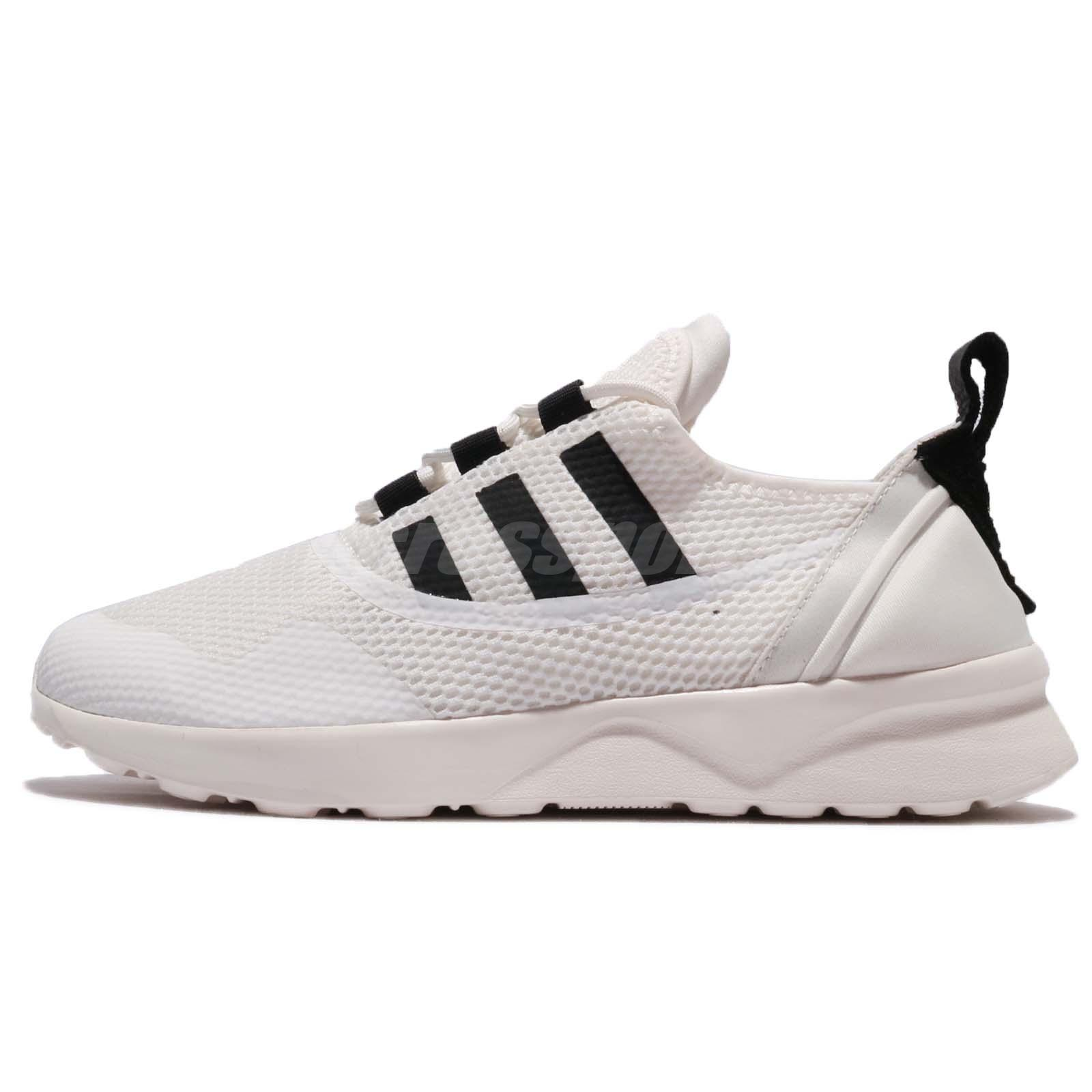 promo code dd046 79a8a Details about adidas Originals ZX Flux ADV Virtue W White Black Women  Running Shoes CP9883