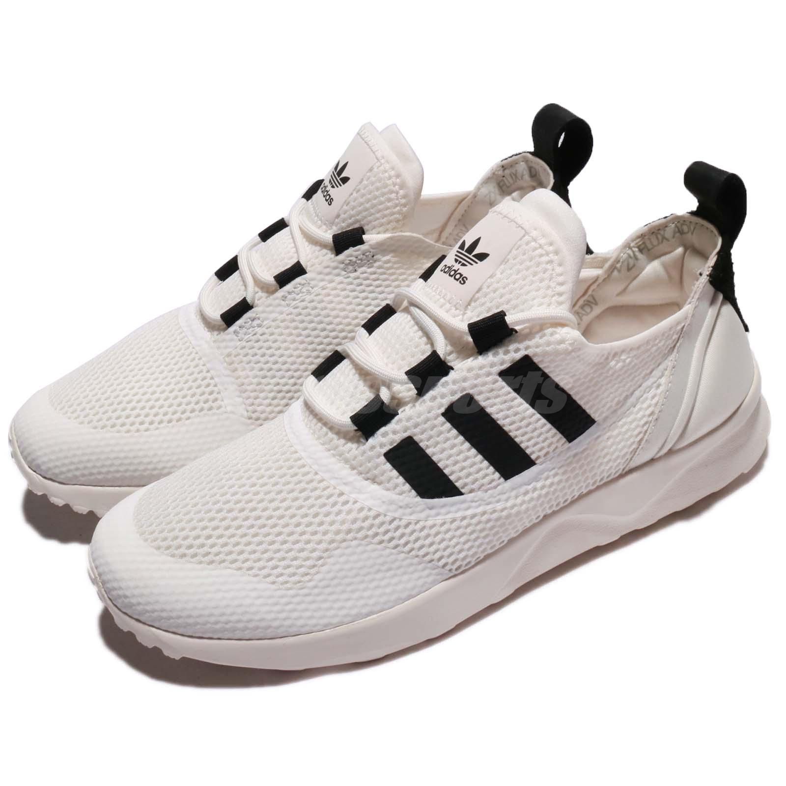 2b4fa632ae8ce Details about adidas Originals ZX Flux ADV Virtue W White Black Women  Running Shoes CP9883