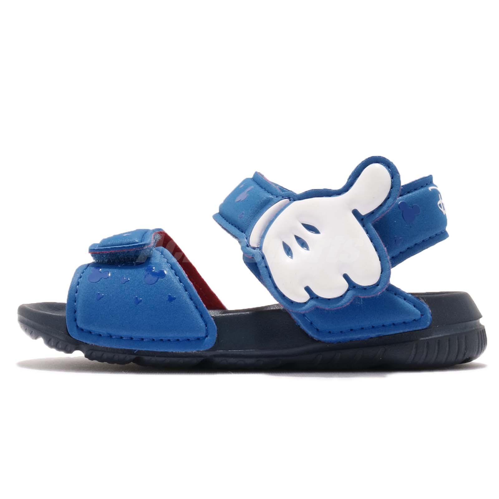 buy online 6c223 55913 adidas DY M M AltaSwim I Disney Micky Mouse Blue Infant Toddler Sandal  CQ0107