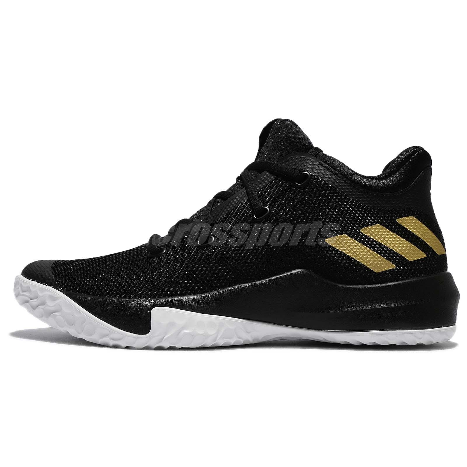 4a610c767176 adidas D Rose Menace 3 III Derrick Black Gold White Men Basketball Shoes  CQ0523