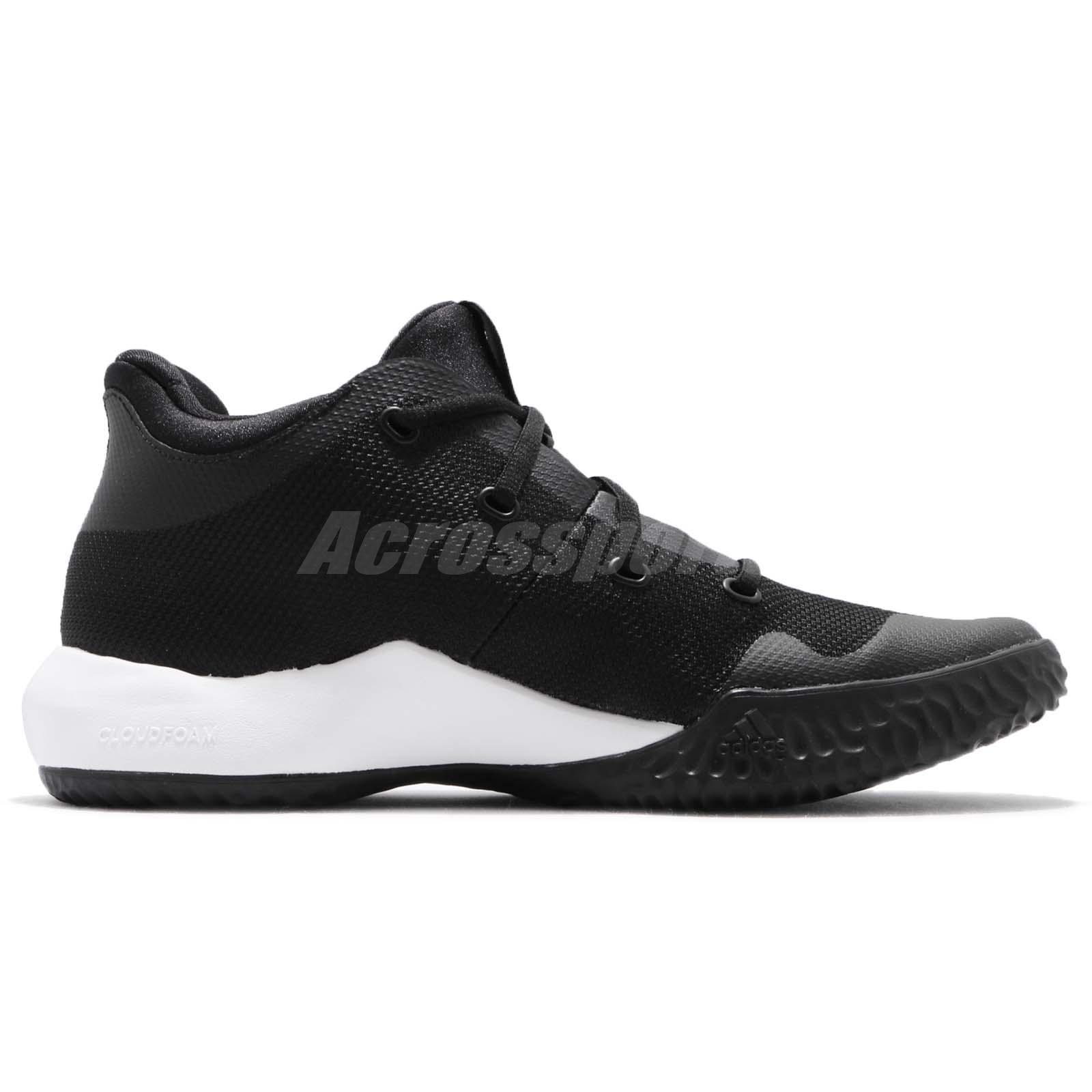 db6e2b950eb adidas Rise Up 2 II White Black Men Basketball Shoes Sneakers ...
