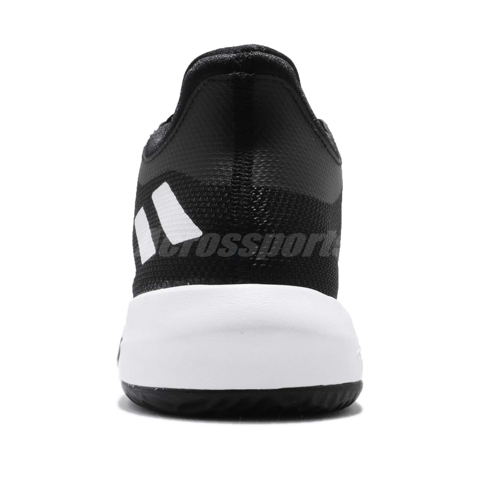 bf7c897e3711 adidas Rise Up 2 II White Black Men Basketball Shoes Sneakers ...