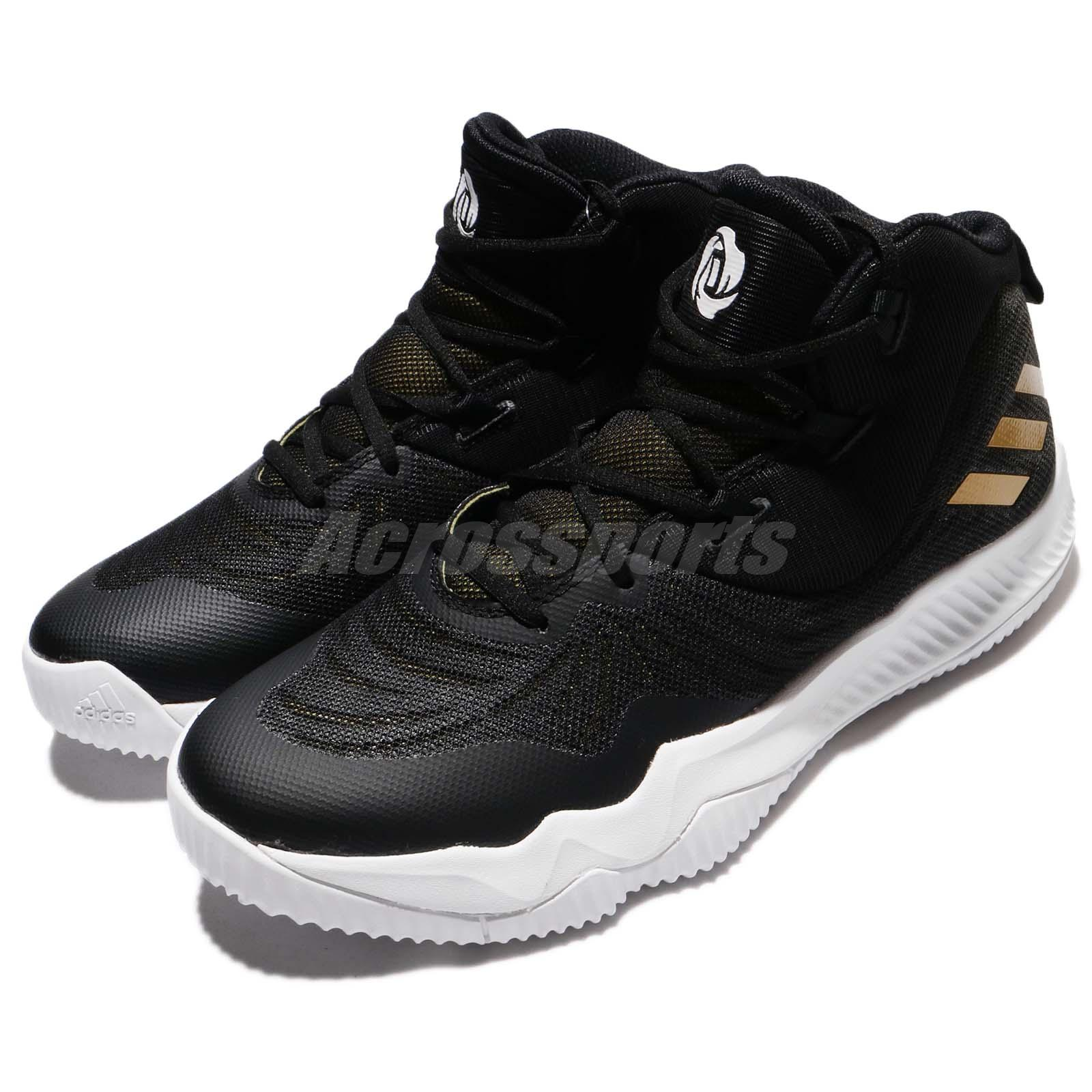 online store b10da c5064 Details about adidas D Rose Dominate III 3 Black Gold White Men Basketball  Shoe Sneaker CQ0727