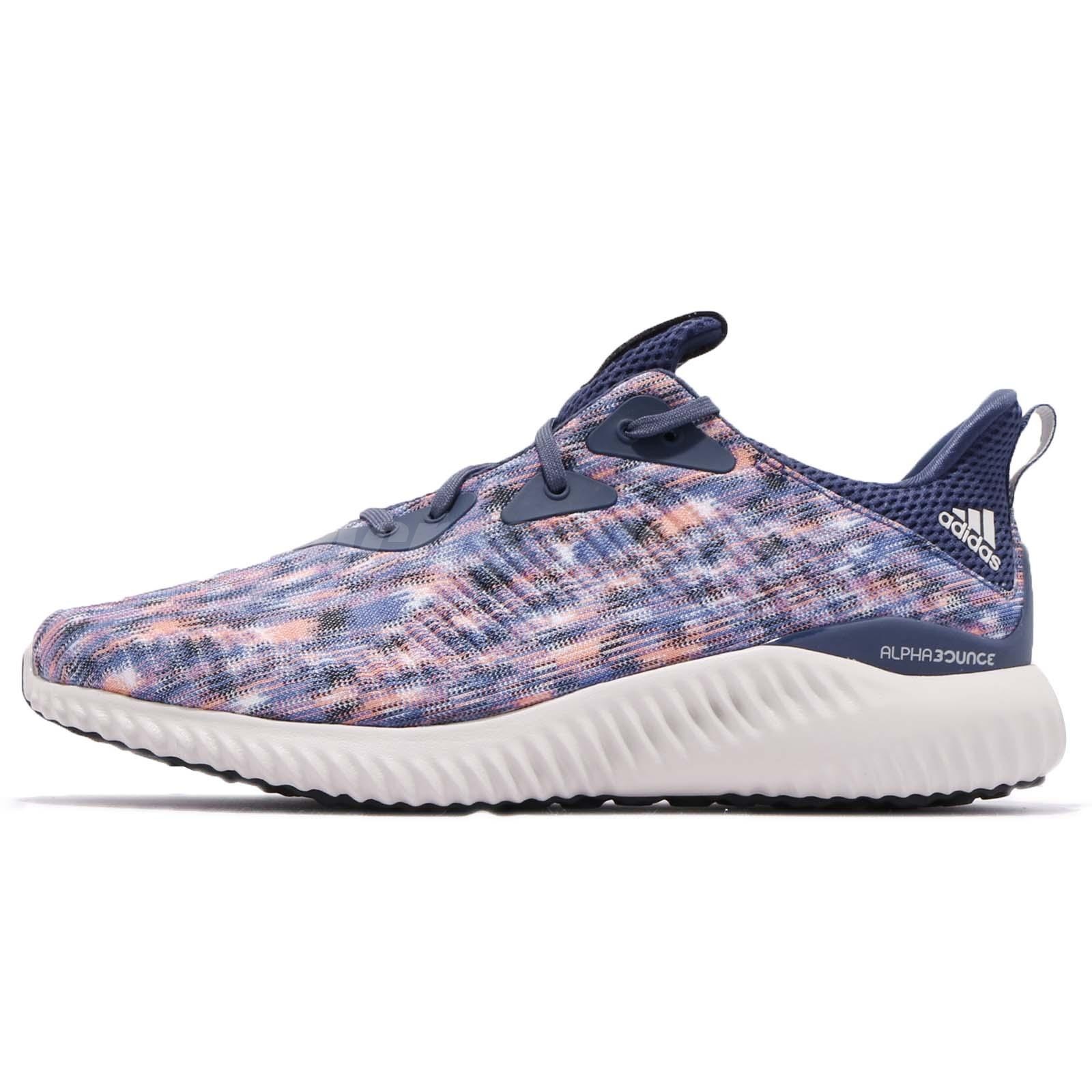 1a8e7fcba6f44 adidas Alphabounce SD M Blue Multi Color Men Running Shoes Sneakers CQ0776
