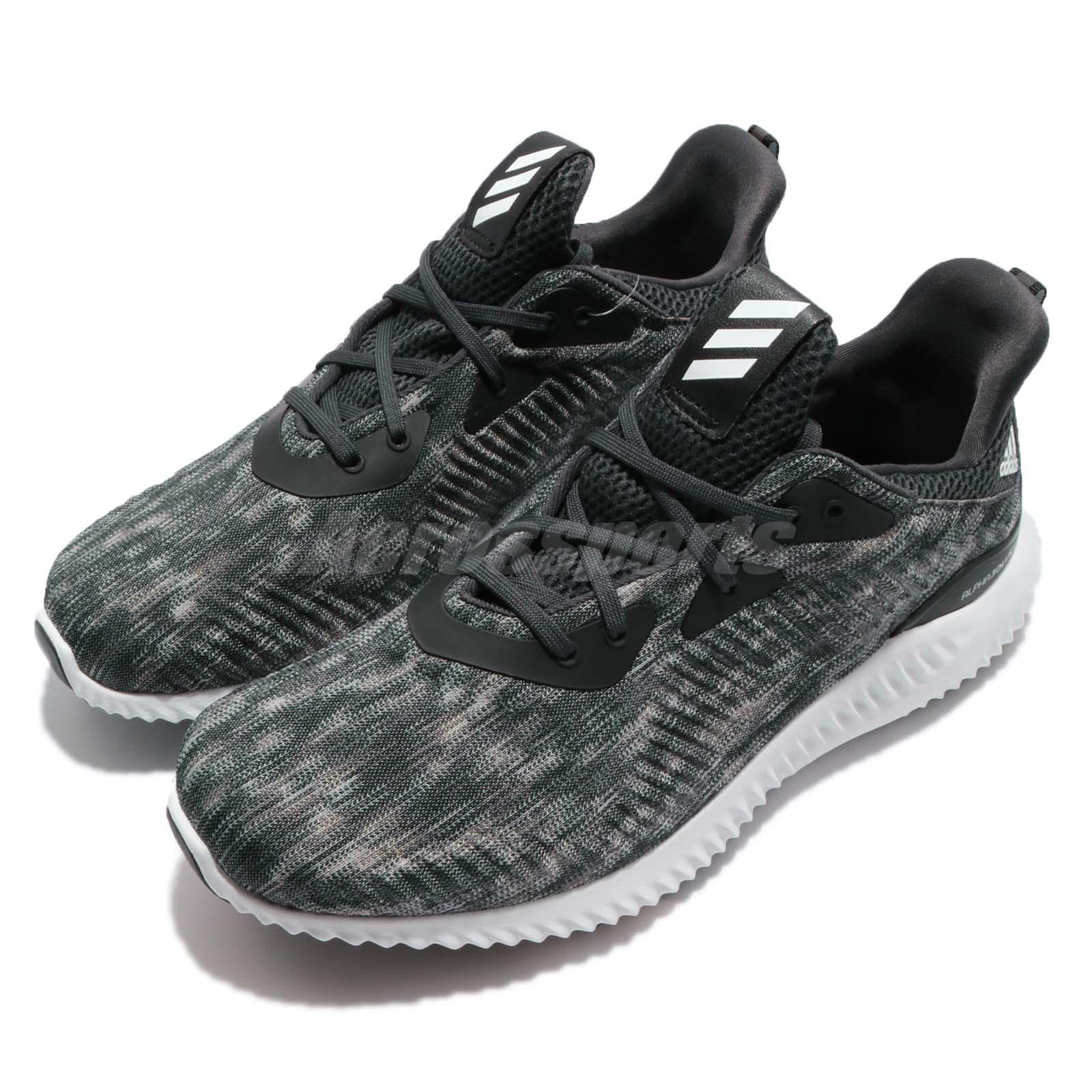 Adidas AlphaBounce SD m negro carbono hombres zapatos negro m blanco ddab83