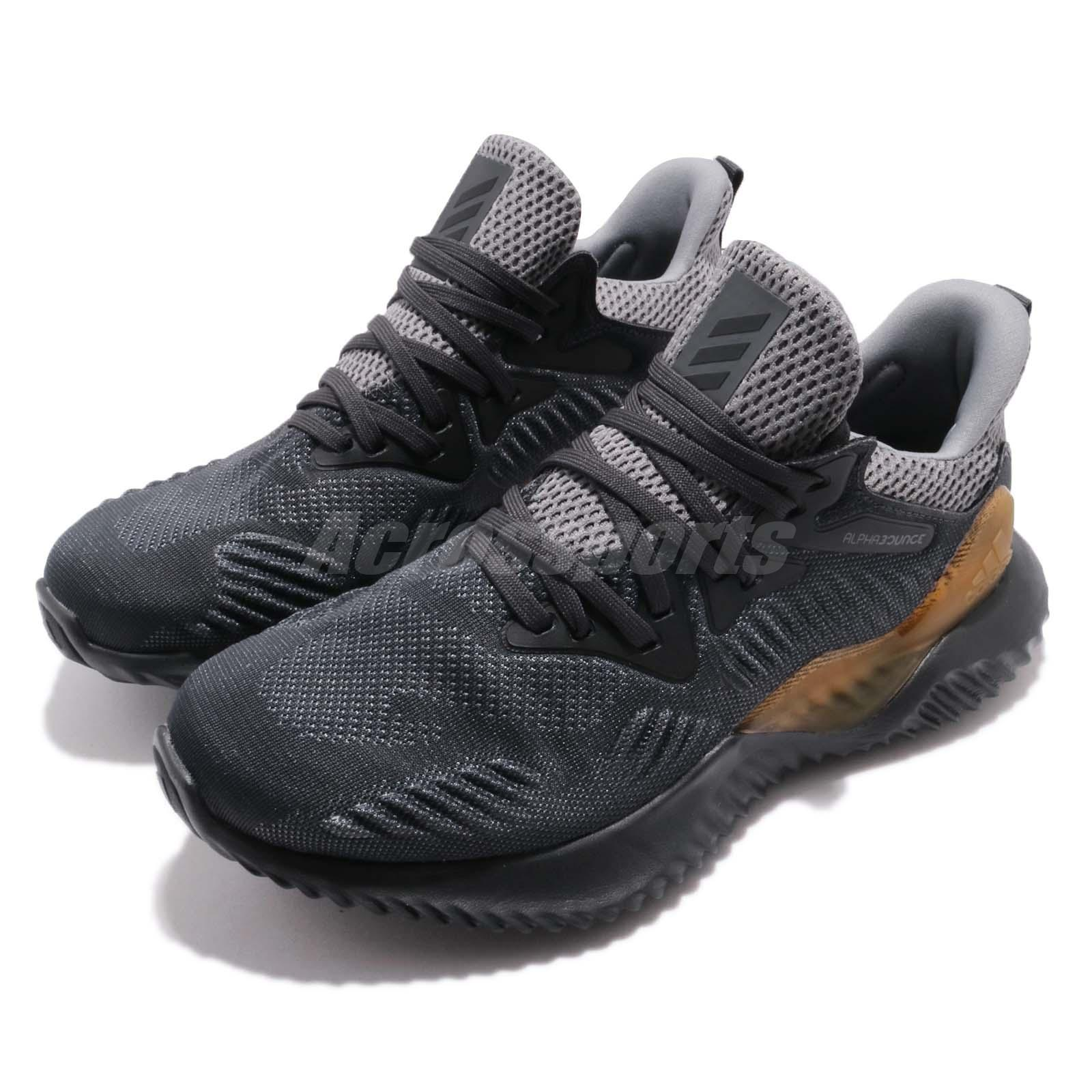 adidas Alphabounce Beyond J Grey Kids Junior Running Shoes S