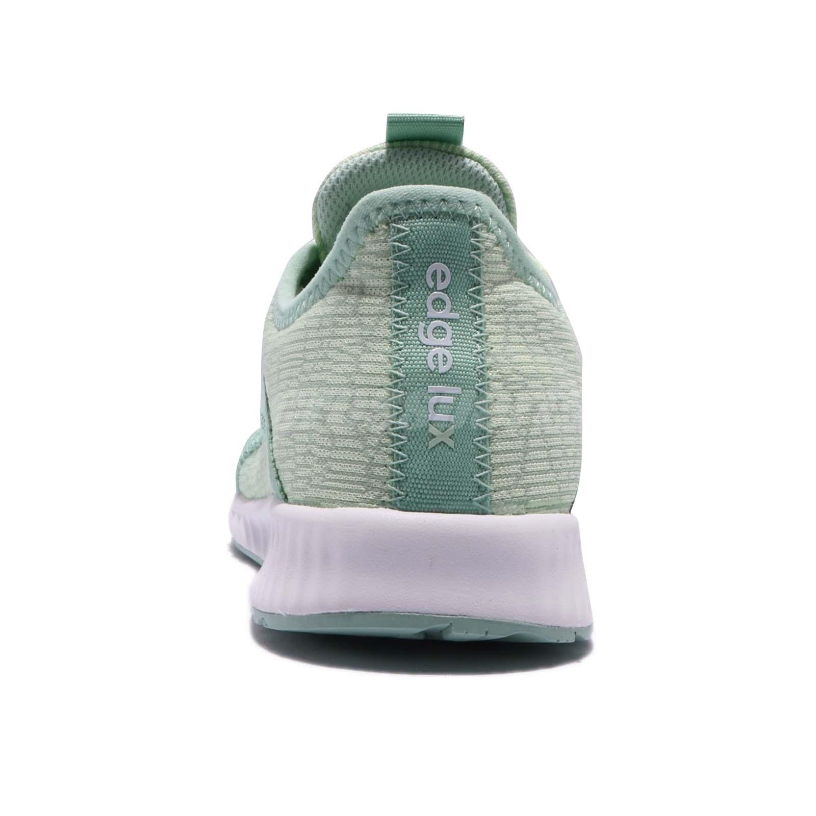 8a17c2550d2 adidas Edge Lux 2 W II Green White Women Running Athletic Shoes ...