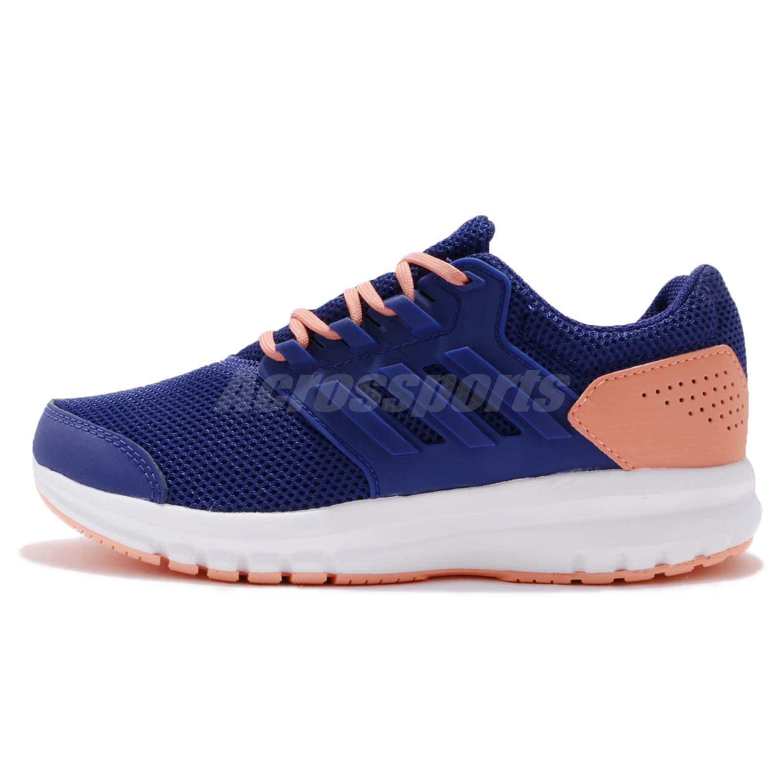 promo code 25b37 d1c2f adidas Galaxy 4 K Blue Real Purple White Kids Running Shoes Sneakers CQ1811