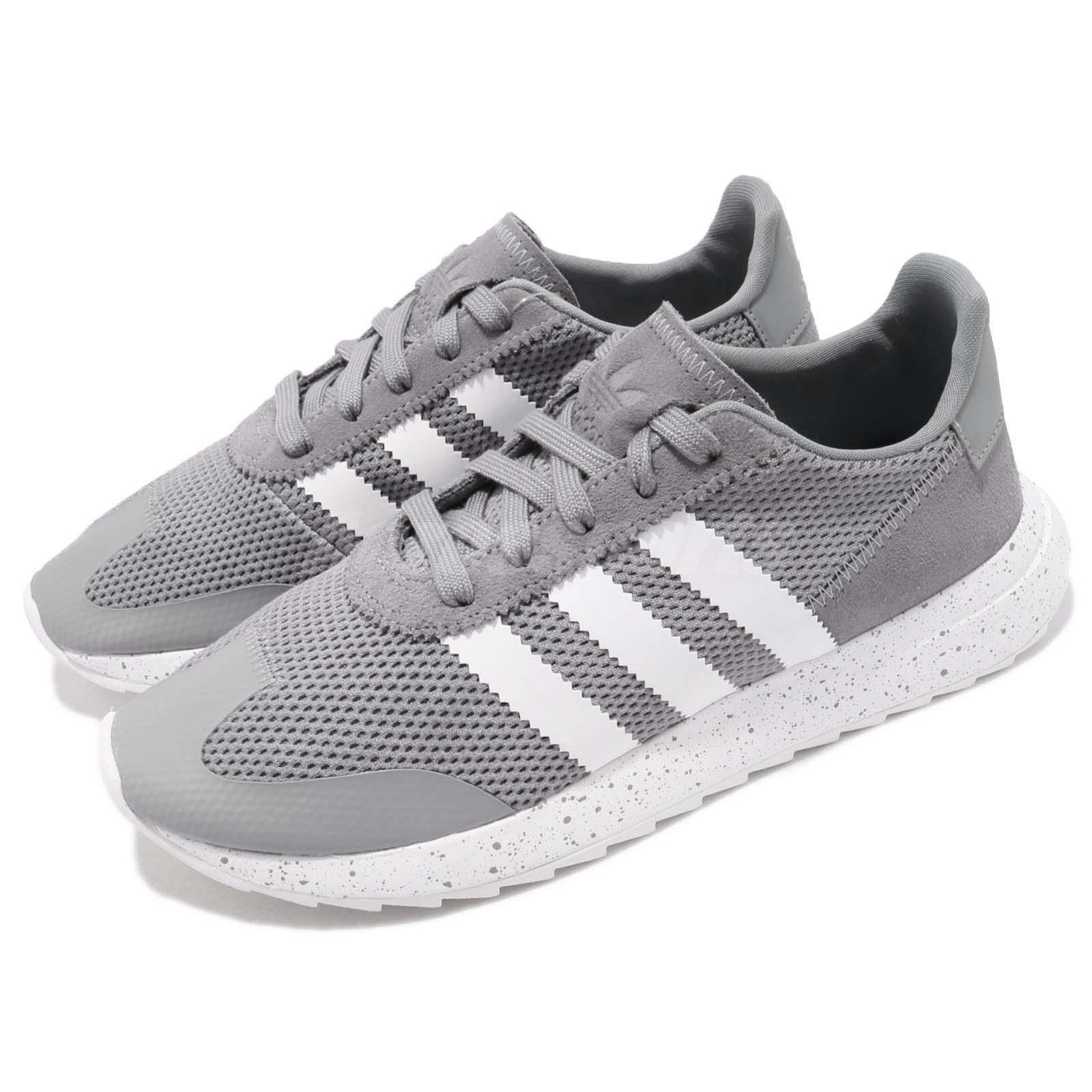 huge discount b46b9 cc194 Details about adidas Originals FLBRunner W Grey White Women Running Shoes  Sneakers CQ1968