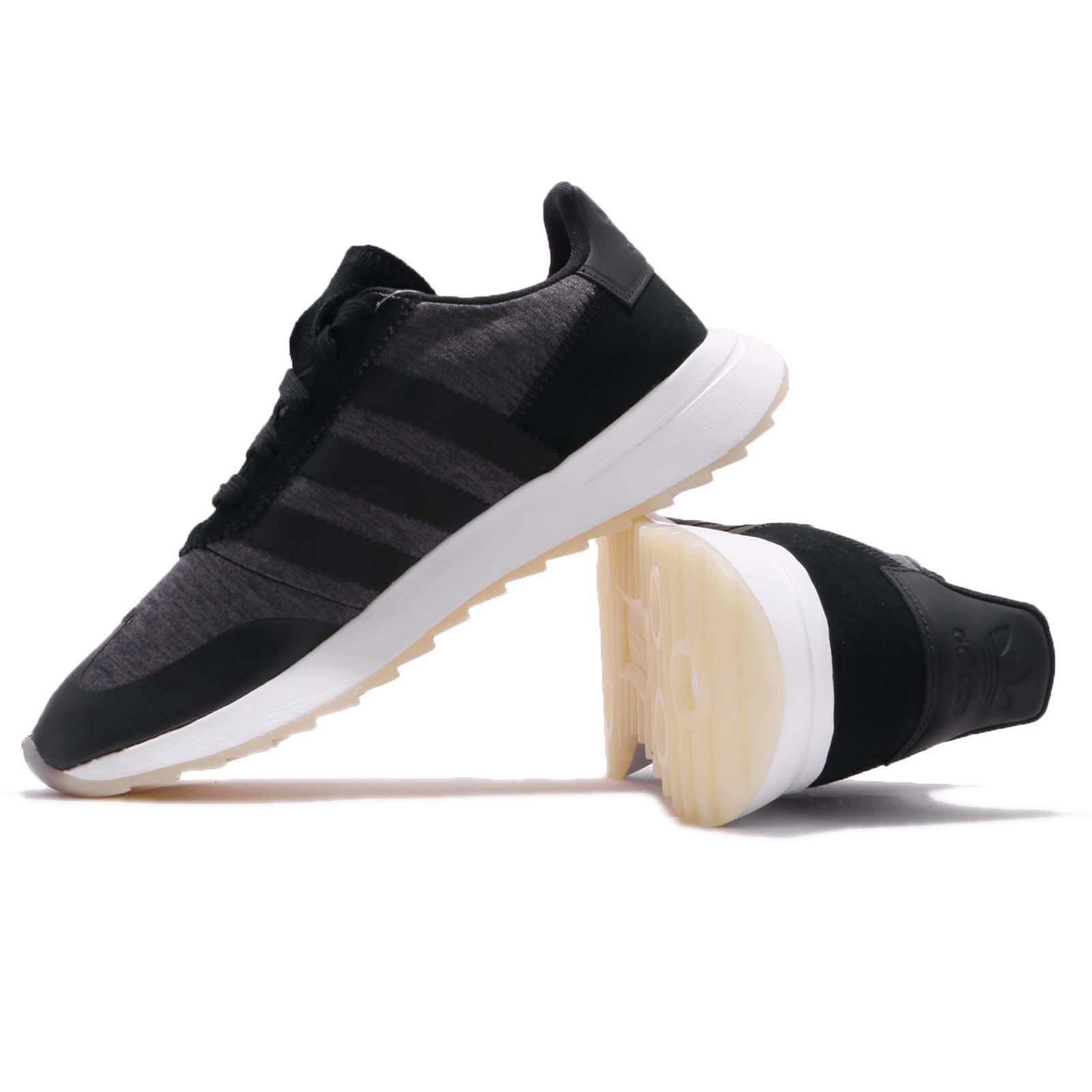 bd400c1c95eb1e adidas Originals FLB Runner W Black White Grey Women Running Shoe ...