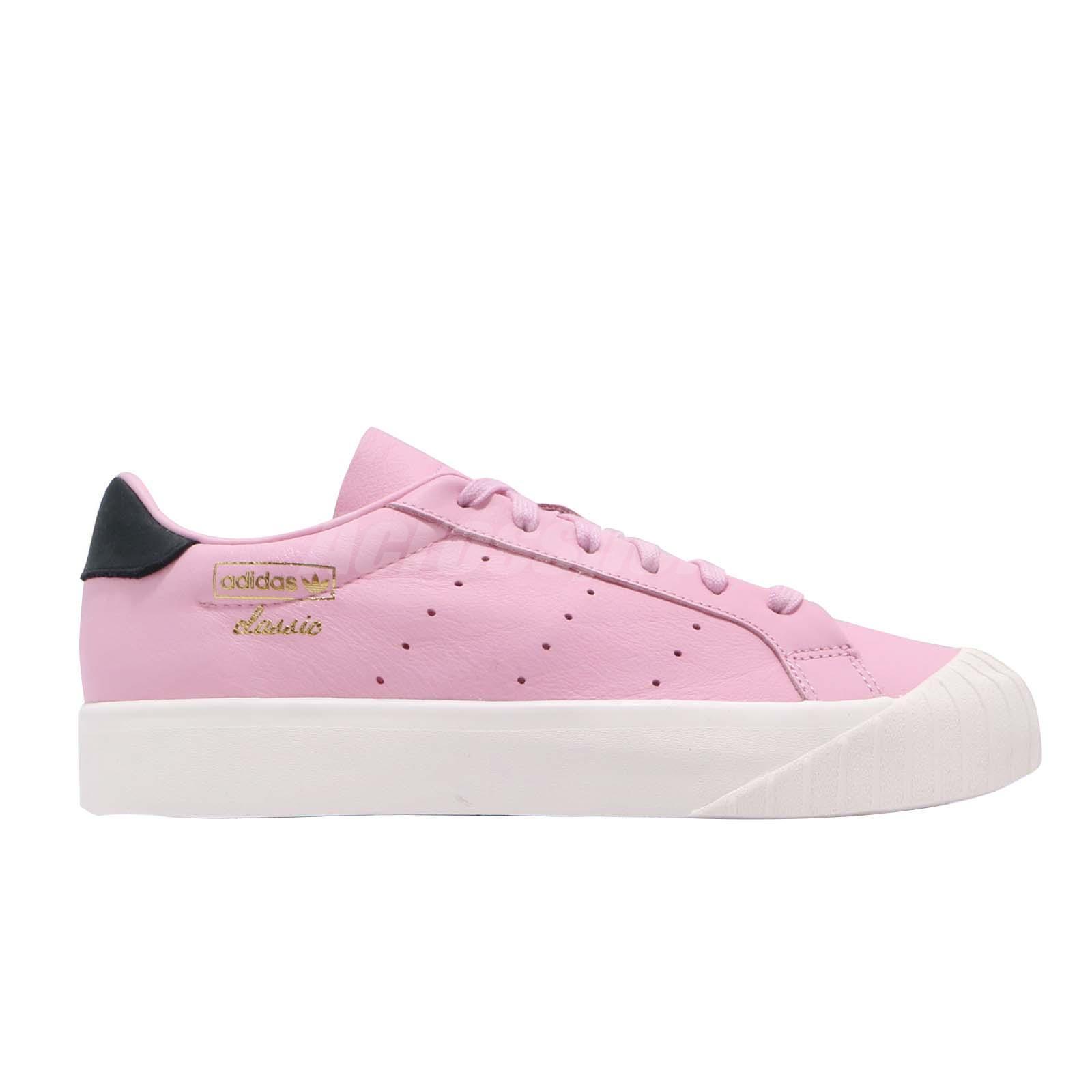 buy popular fc059 0e429 adidas Originals Everyn W Wonder Pink Black Women Classic Ca