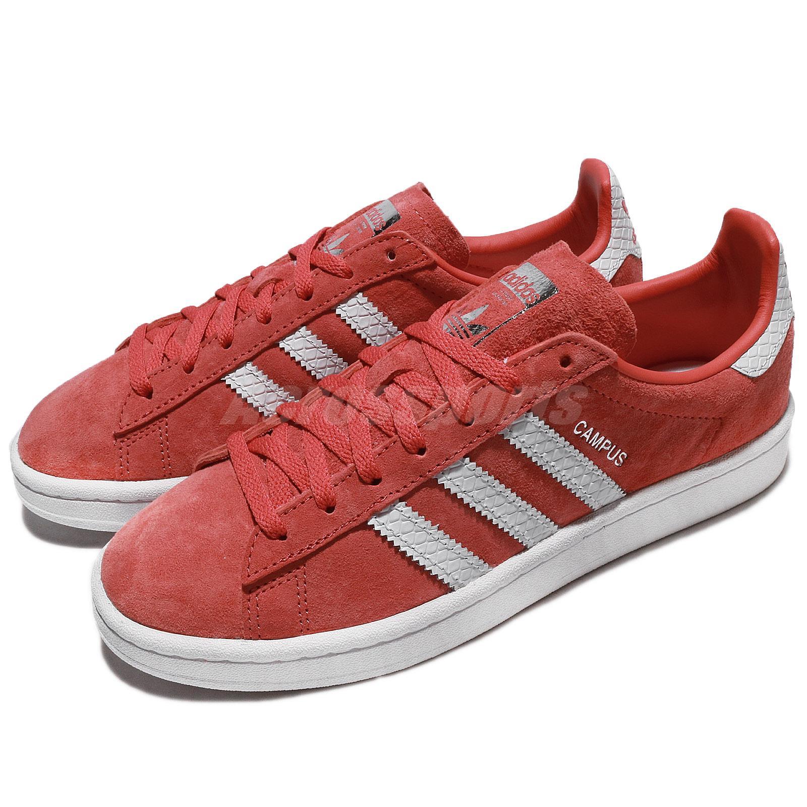 776d9cb3b34 Details about adidas Originals Campus W Trace Scarlet White Women Classic  Shoes Sneaker CQ2099