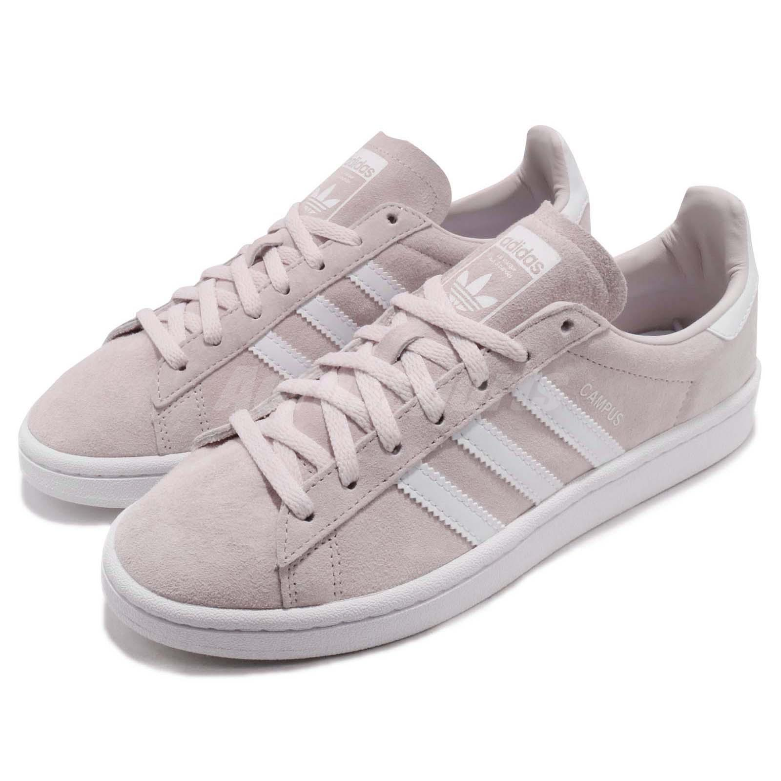 good service presenting newest collection Details about adidas Original Campus W Nubuck Pink White Women Classic  Shoes Sneakers CQ2106