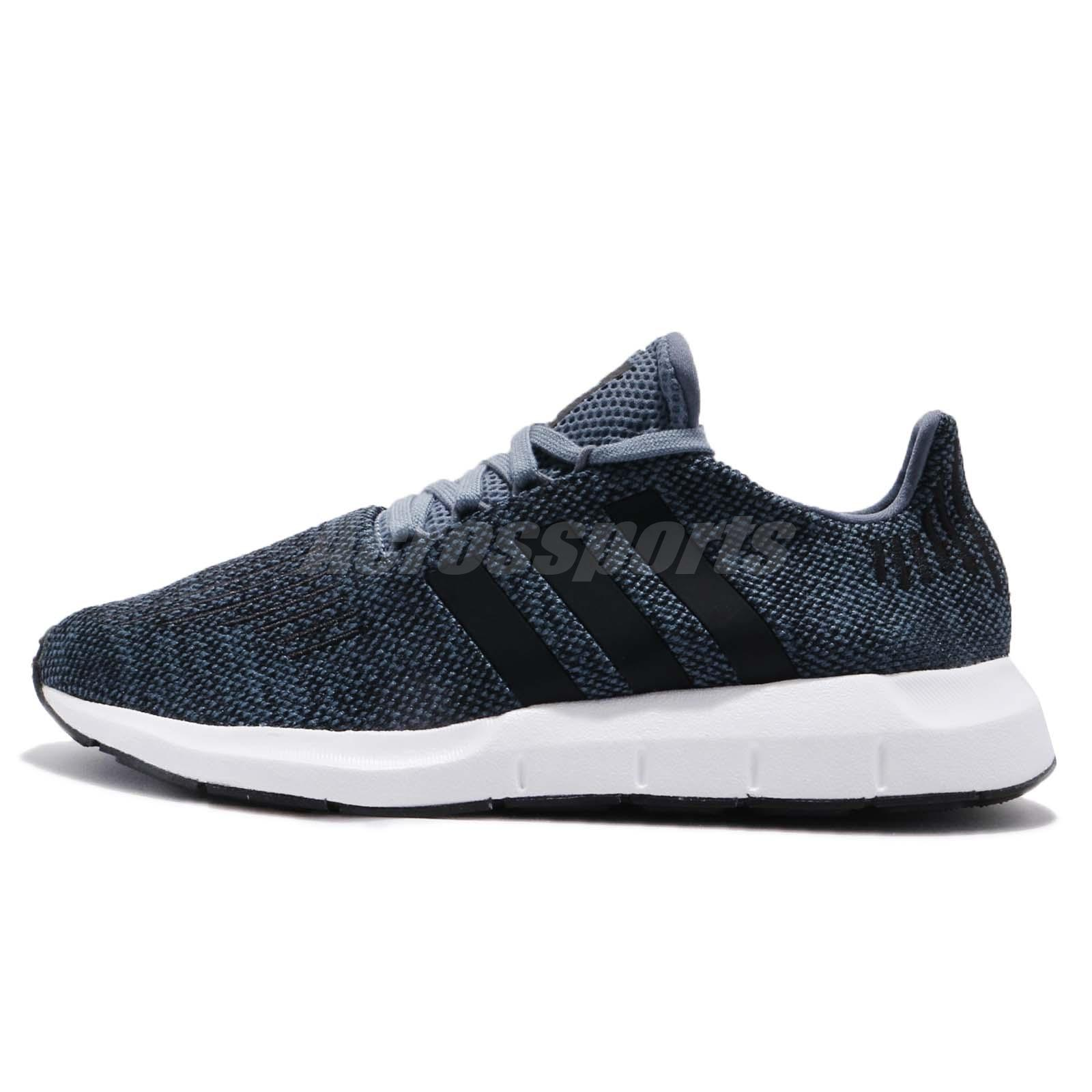 c6d303796 adidas Swift Run Raw Steel Navy Black Men Running Shoes Sneakers CQ2120