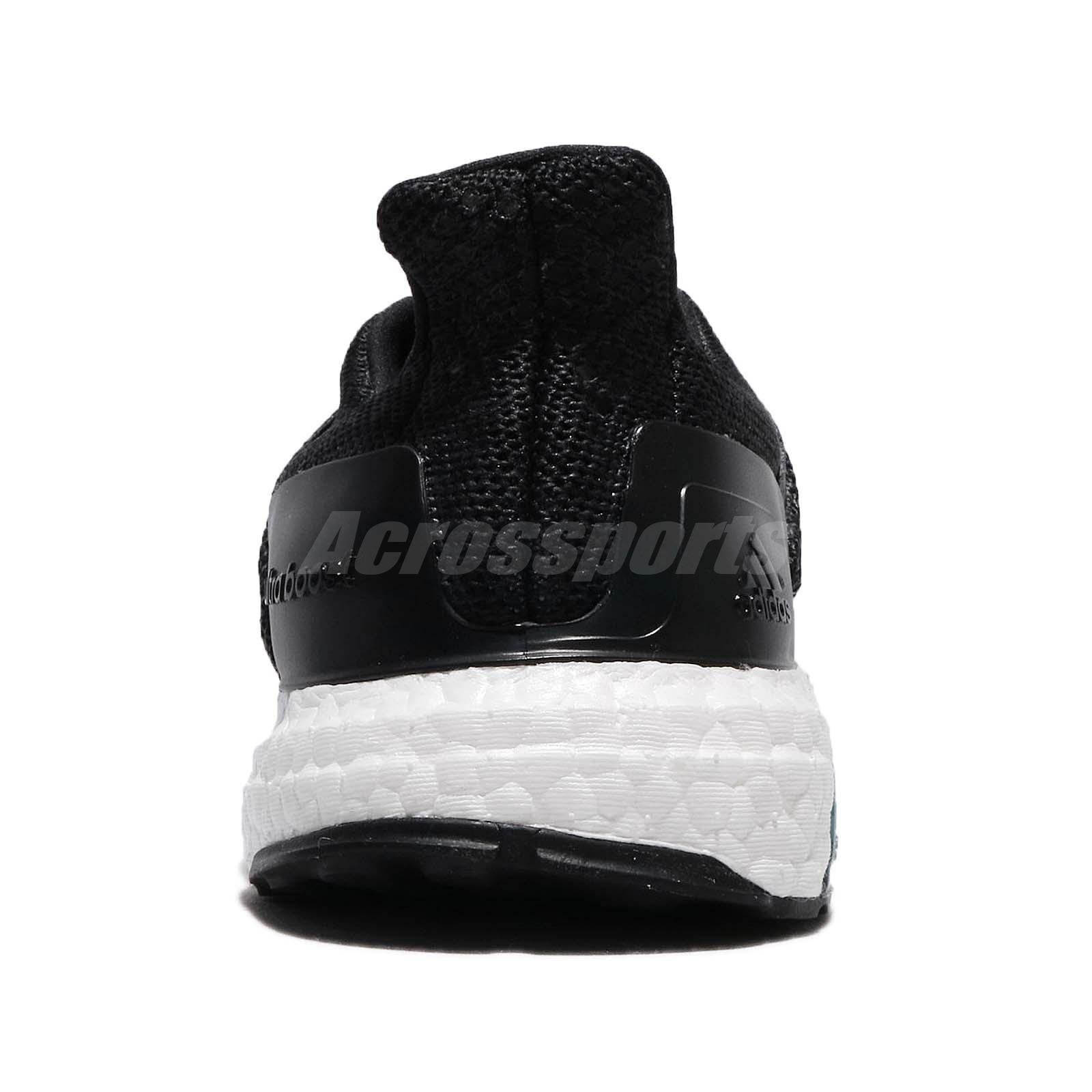 602c138e4 adidas UltraB OOST ST M PrimeKnit Black White Men Running Shoes ...
