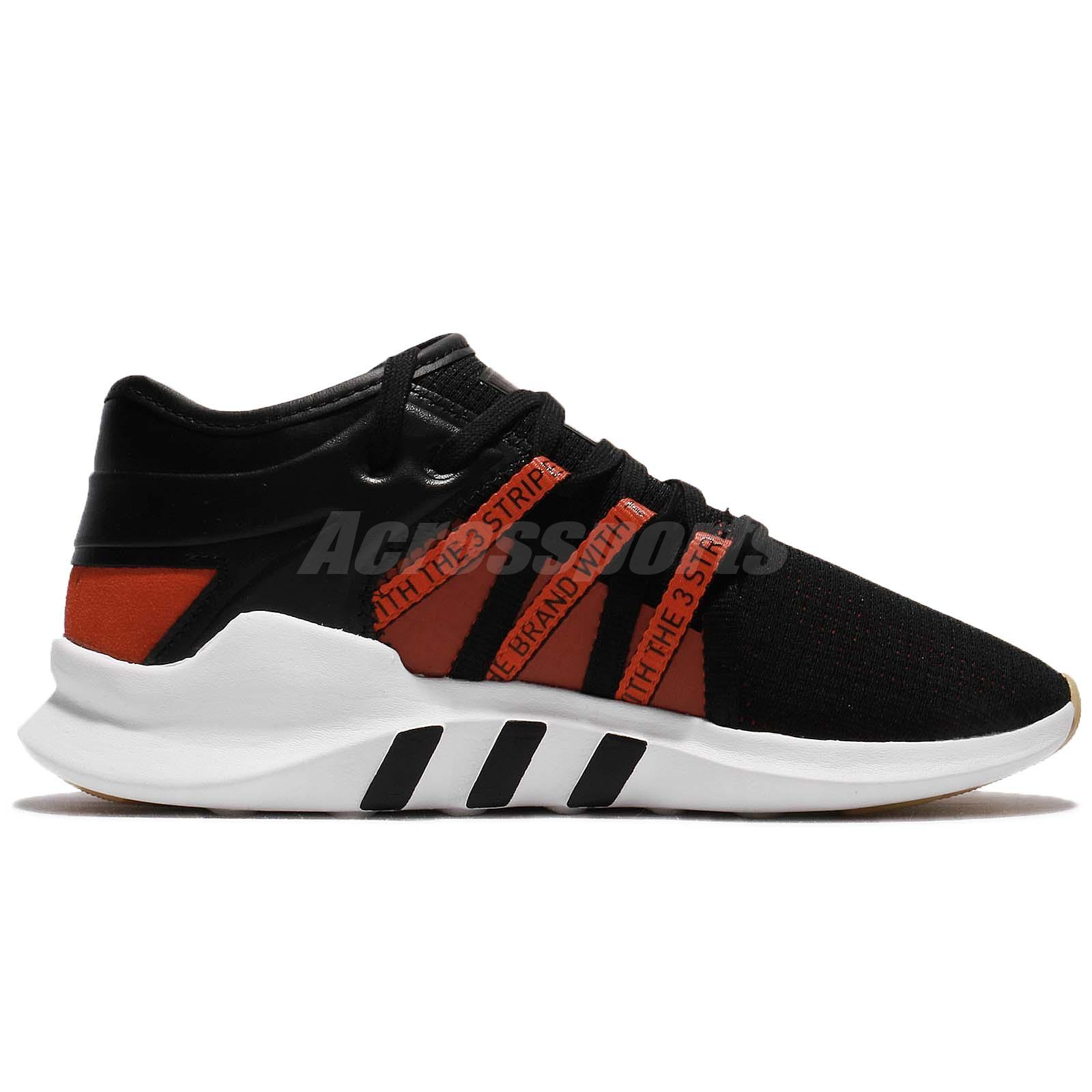 adidas Originals EQT Racing ADV W Black Bold Orange Women Running Shoes CQ2154 S7BdoW0