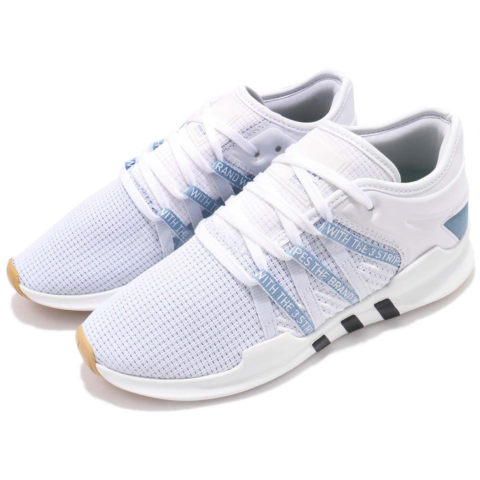 meet dca85 f4757 Details about adidas Originals EQT Racing ADV W White Ash Blue Women  Running Shoes CQ2155