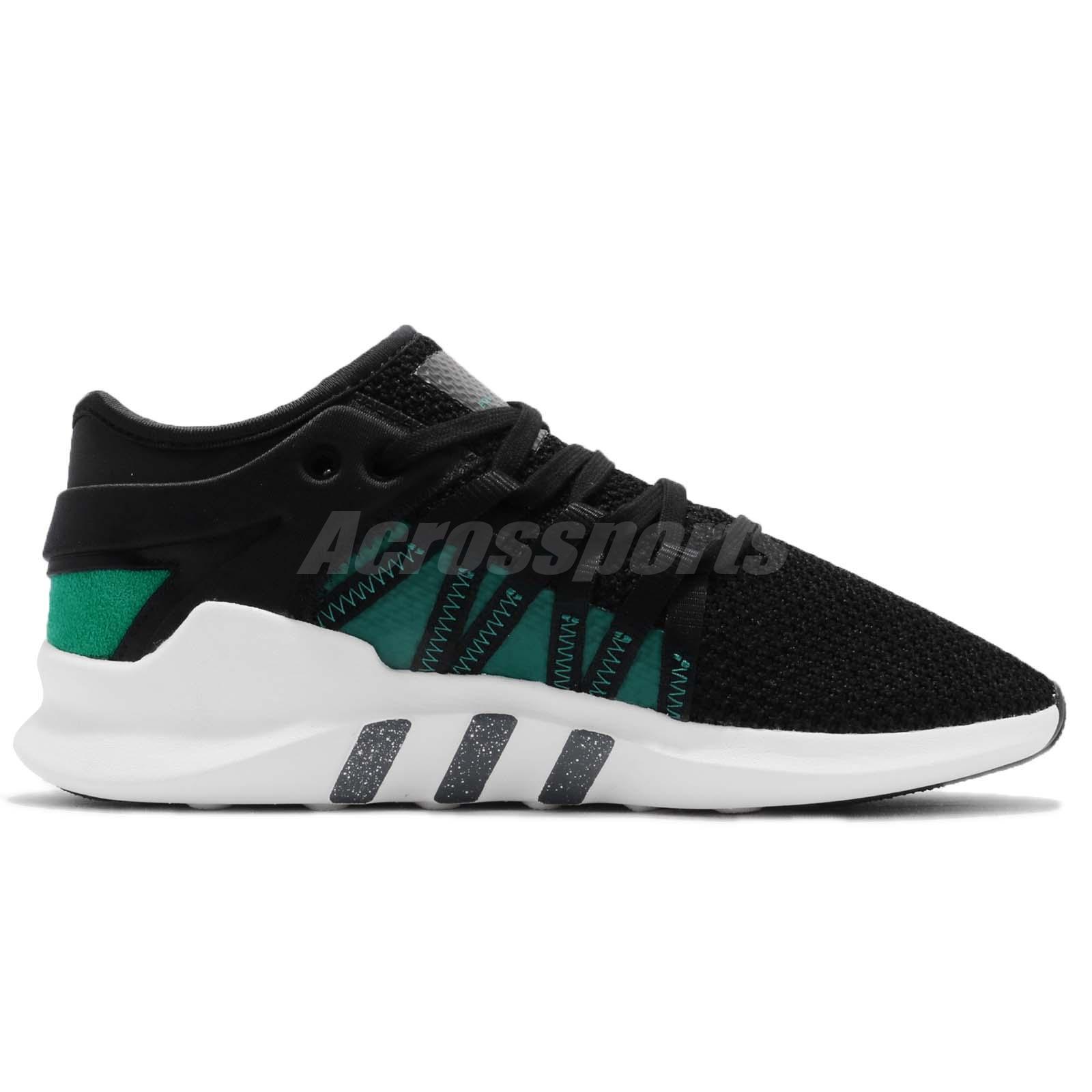 adidas originali eqt racing avanzata w donne giorno nero - verde scarpe da donna