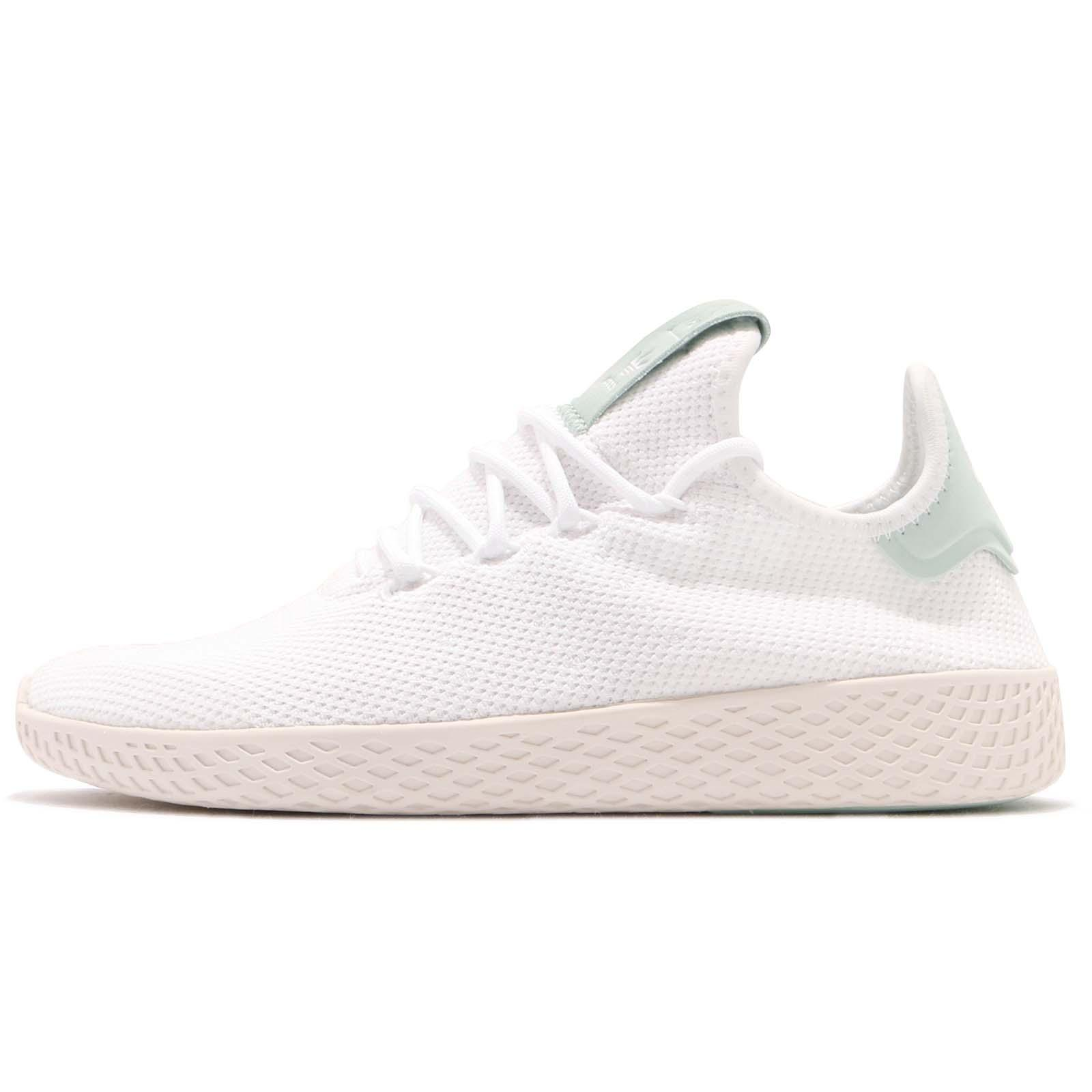 96453efd306f3 adidas Originals PW Tennis Hu Pharrell Williams White Green Men Shoes CQ2168