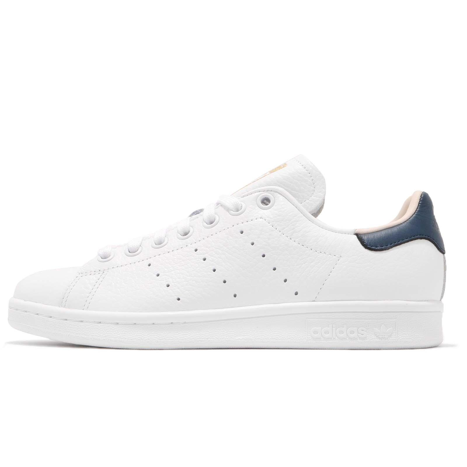 79ecfce0ae741 adidas Originals Stan Smith White Collegiate Navy Men Shoes Sneakers CQ2201