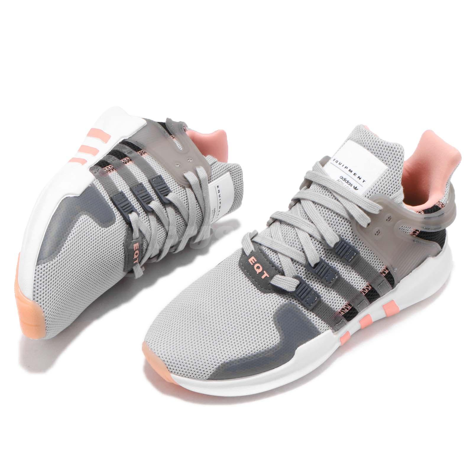 ... new collection adidas Originals EQT Support ADV Grey Chalk Coral Women  Running . 546e0ff2f5f6