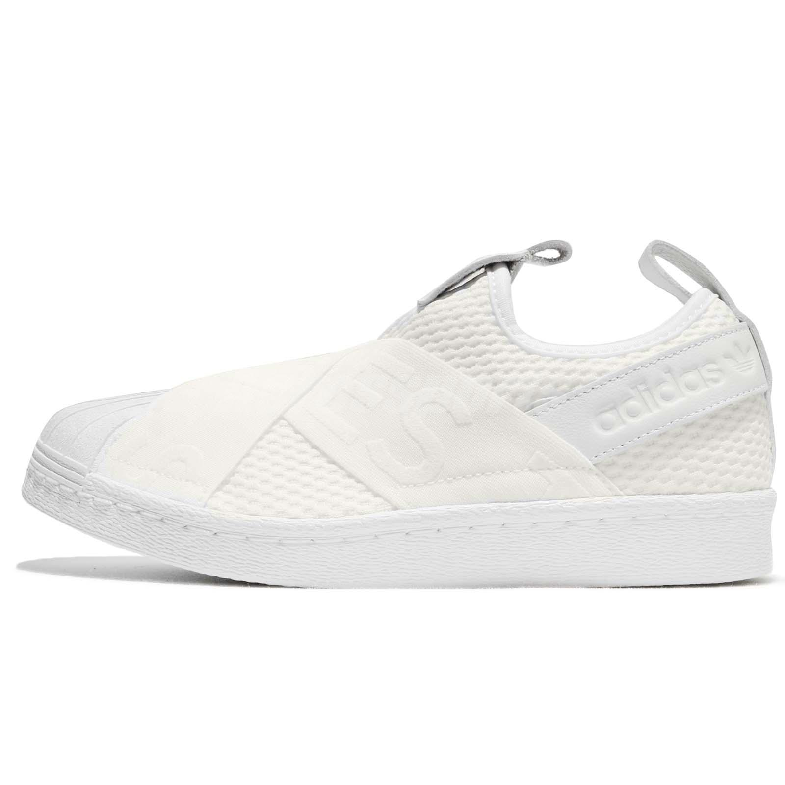adidas Originals Superstar SlipOn W White Women Shoes Sneakers Trainers  CQ2381 7602cddfeb8c