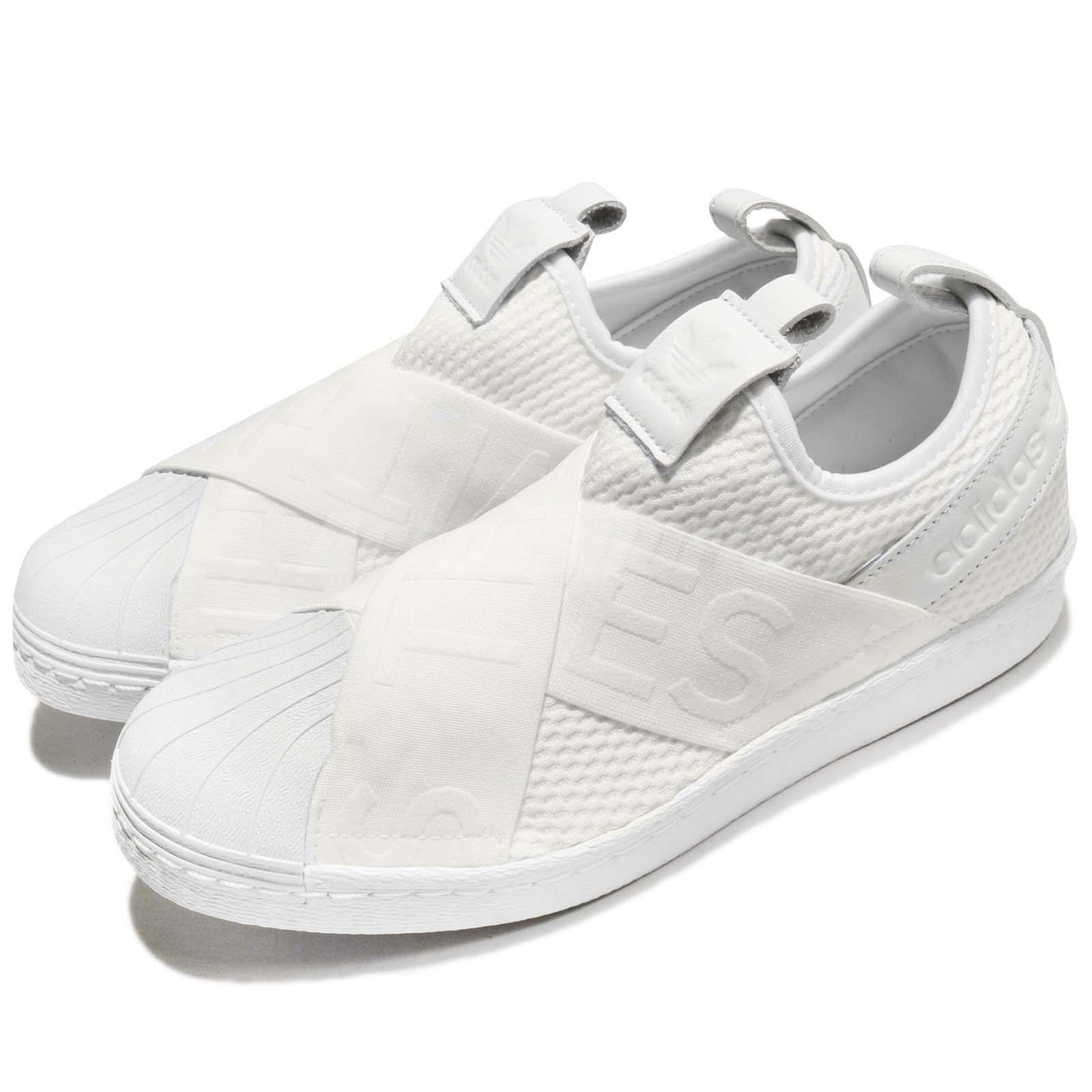 Details about adidas Originals Superstar SlipOn W White Women Shoes  Sneakers Trainers CQ2381 385500006c9c