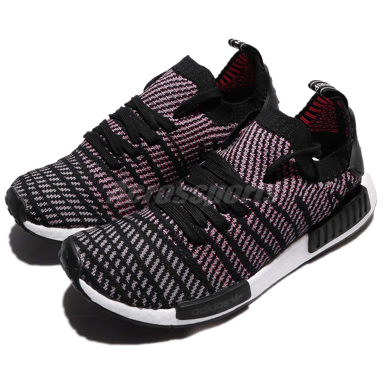 Details about LOW PRICE! Adidas NMD R1 STLT PK BlackGreySolar Pink Size 12 CQ2386 NEW