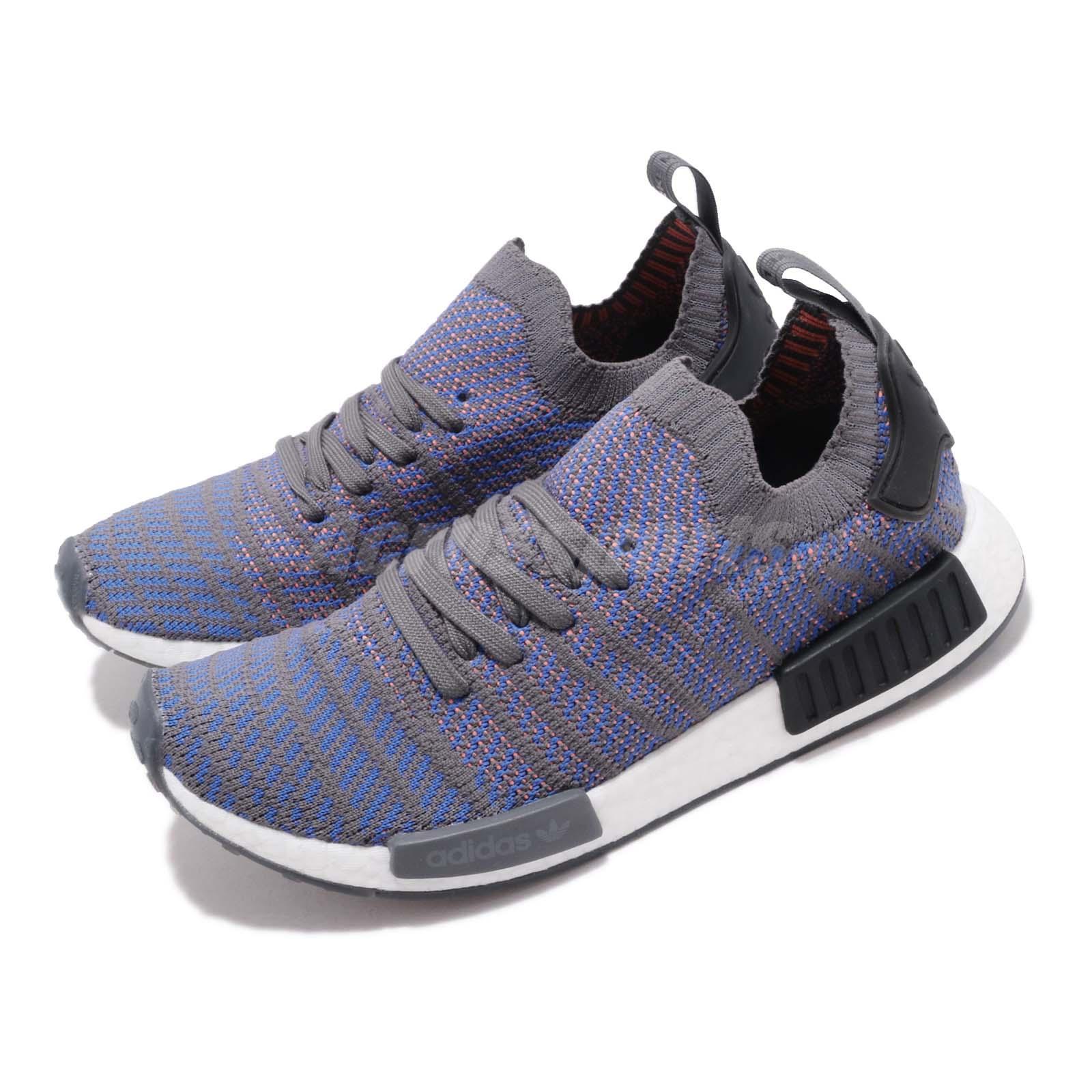 size 40 74661 d70f2 Details about adidas Originals NMD_R1 STLT PK Hi Res Blue Men Women Shoes  Sneakers CQ2388