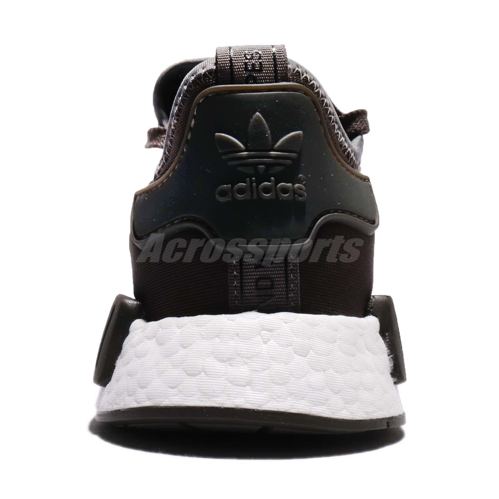92c587335f34d adidas Originals NMD R1 Boost Brown Trace Grey Metallic Men Shoes ...