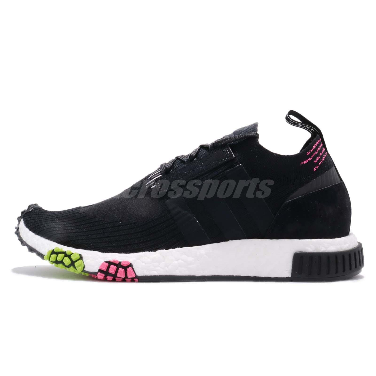 finest selection 30c26 1ad28 adidas Originals NMD Racer PK PrimeKnit Black Pink Green Men Running Shoe  CQ2441