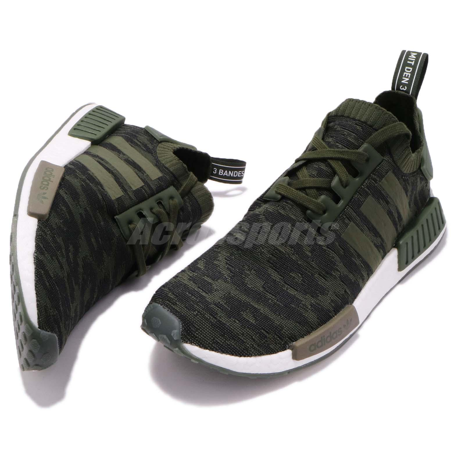 ce8770240a4a6 adidas Originals NMD R1 PK Primeknit Night Cargo G.. in Clothing ...