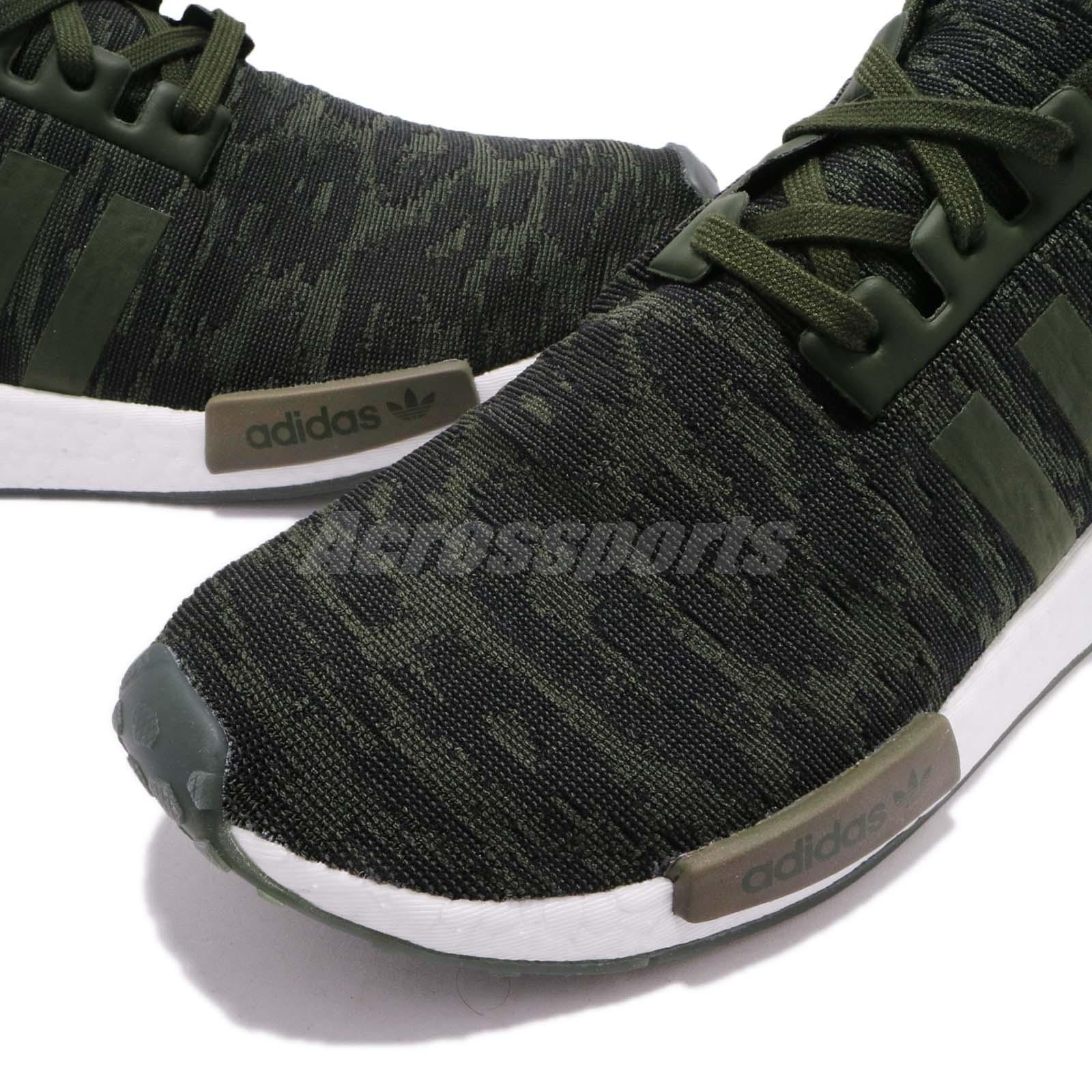 e4900e77e ... CQ2445  Preview Of adidas Originals NMDR1 PK Primeknit Night Cargo  Green Men Ru ...