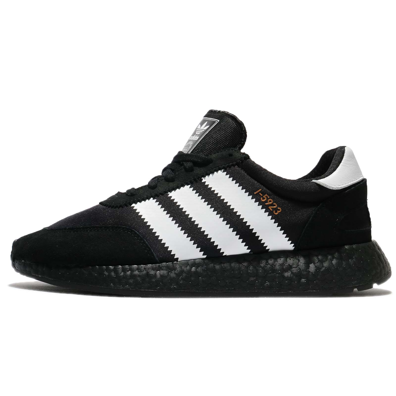adidas Originals I-5923 Boost Black White Men Running Shoes Sneakers CQ2490