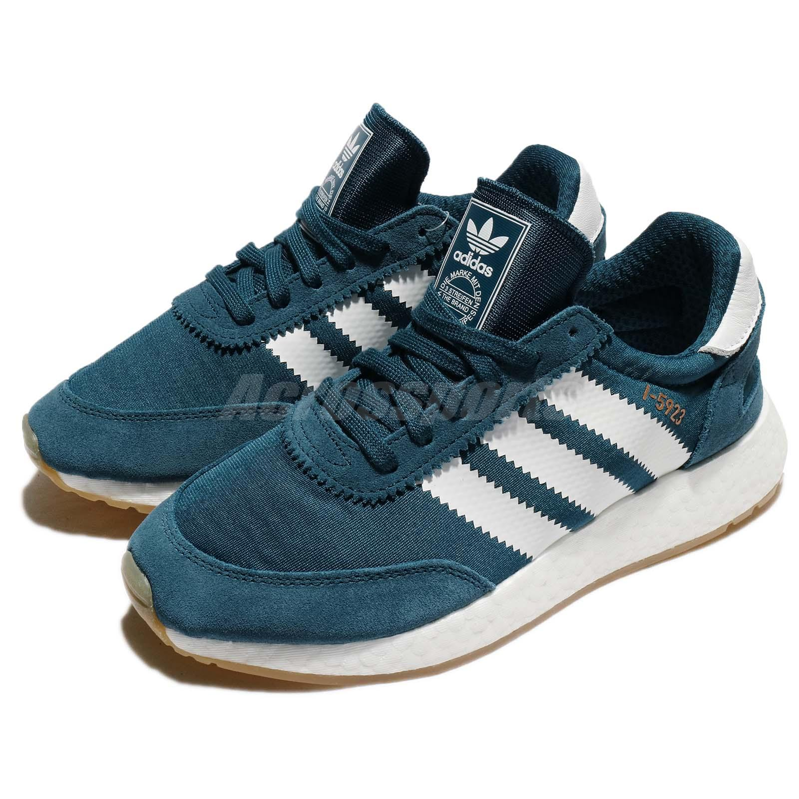 adidas Originals I-5923 W Boost Blue White Women Running Shoes Sneakers CQ2529