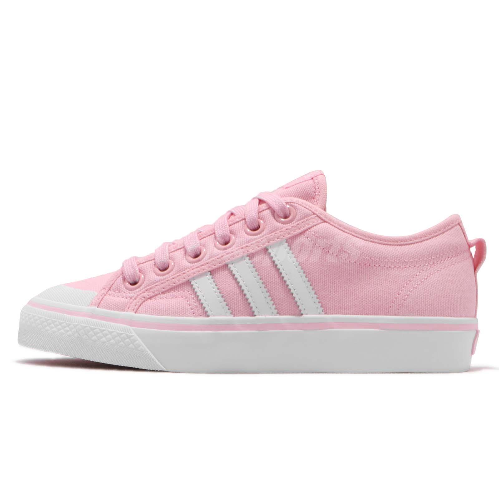 Detalles acerca de Adidas Originals Nizza W Wonder Rosa Calzado Zapatos Informales para Mujeres Blanco CQ2539 mostrar título original
