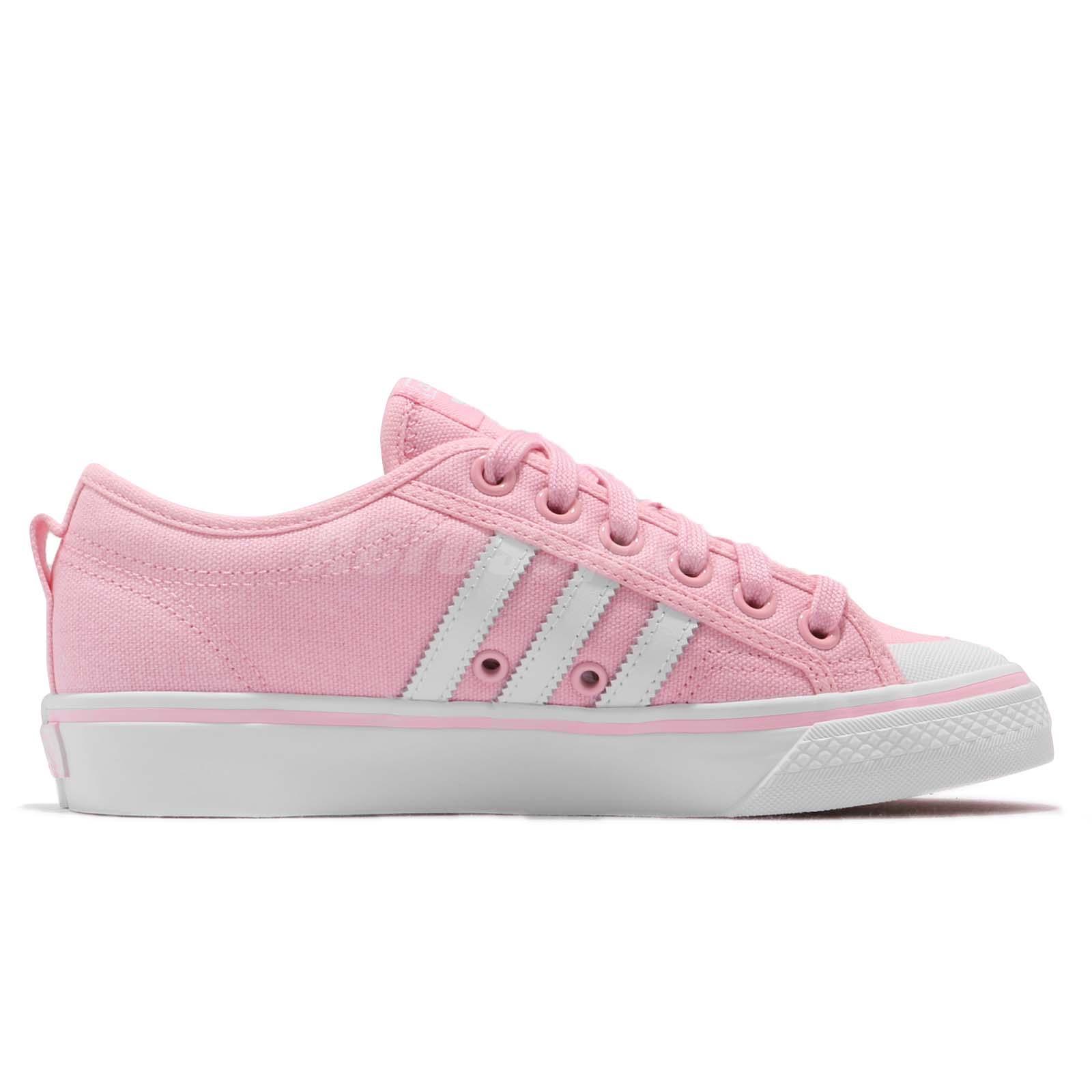 d956e9c84 adidas Originals Nizza W Wonder Pink Footwear White Women Casual ...